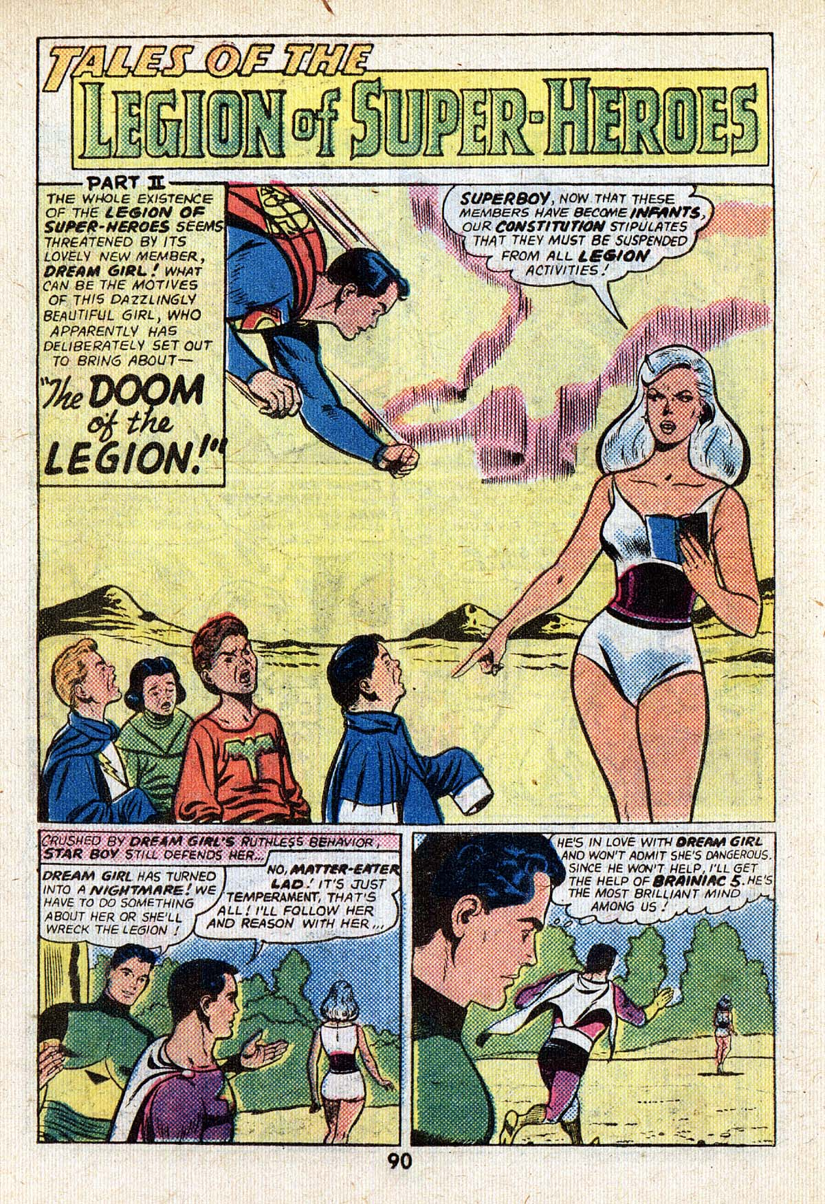 Read online Adventure Comics (1938) comic -  Issue #502 - 90