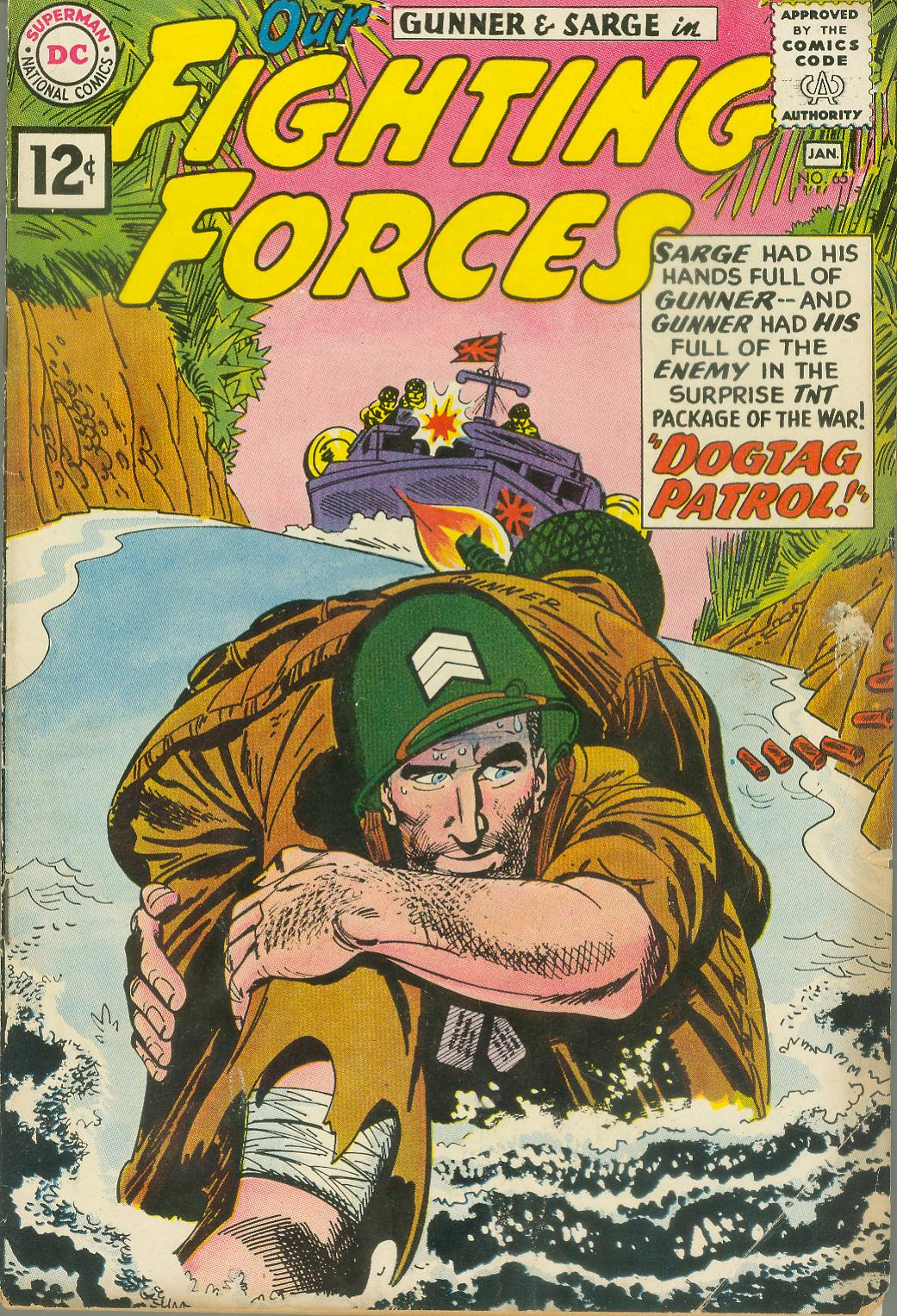 Our Fighting Forces (1954) issue 65 - Page 1