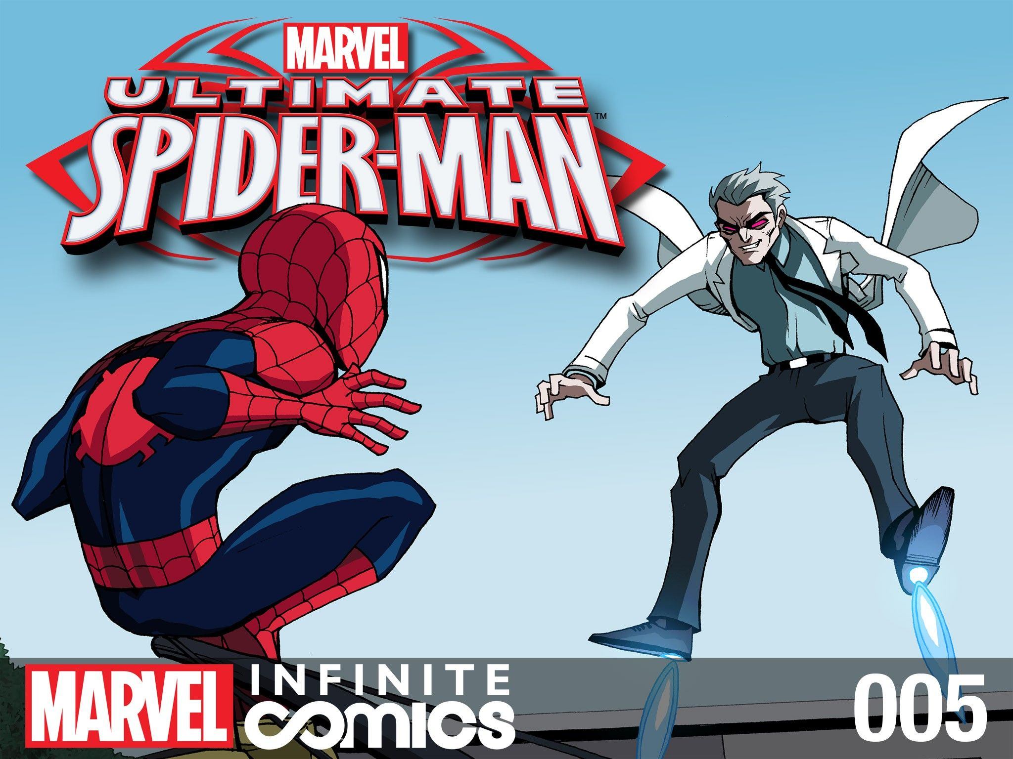Read online Ultimate Spider-Man (Infinite Comics) (2015) comic -  Issue #5 - 1