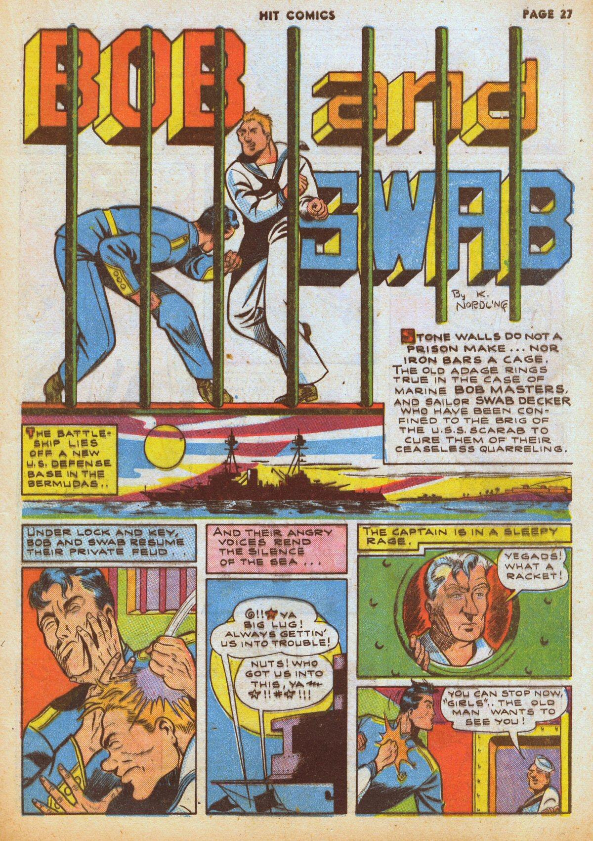 Read online Hit Comics comic -  Issue #12 - 29