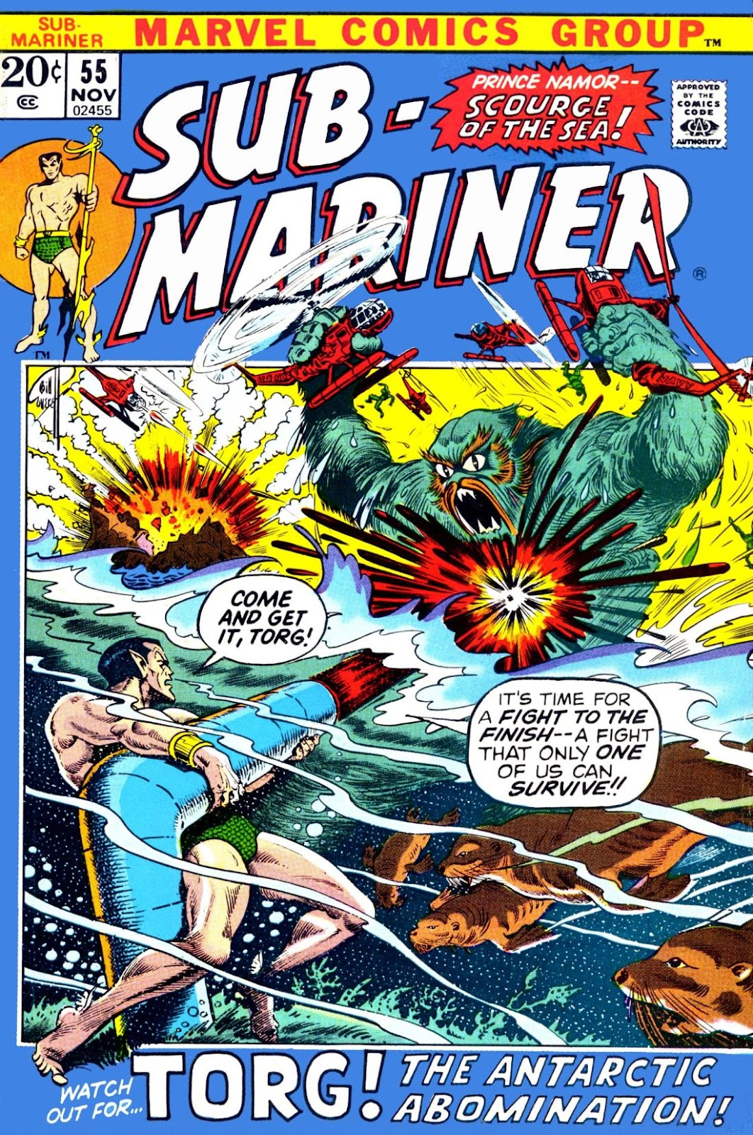 The Sub-Mariner 55 Page 1