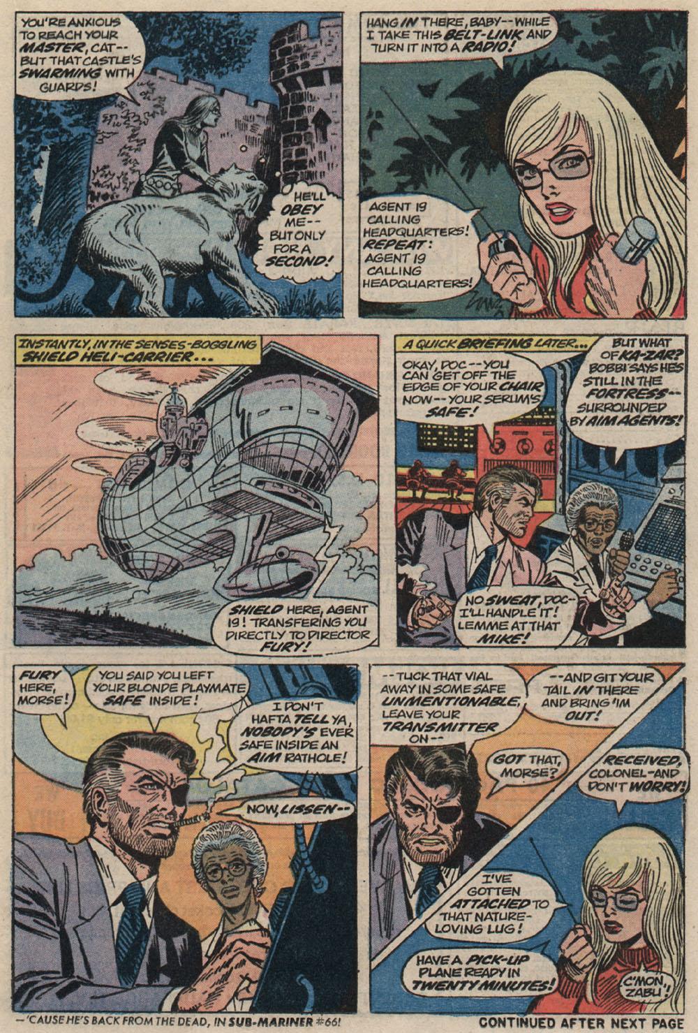 Read online Astonishing Tales (1970) comic -  Issue #20 - 12