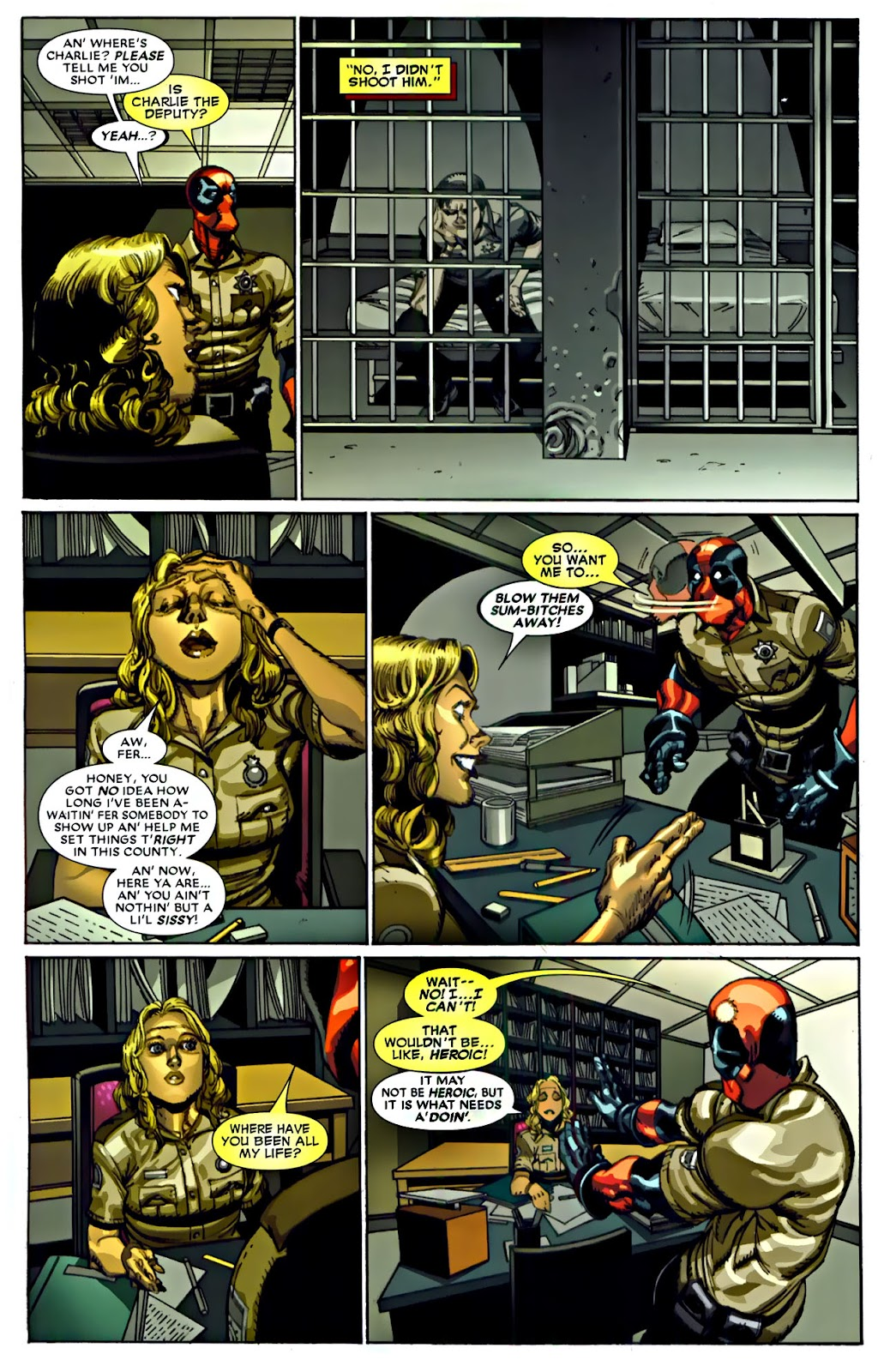 Read online Deadpool (2008) comic -  Issue #22 - 16