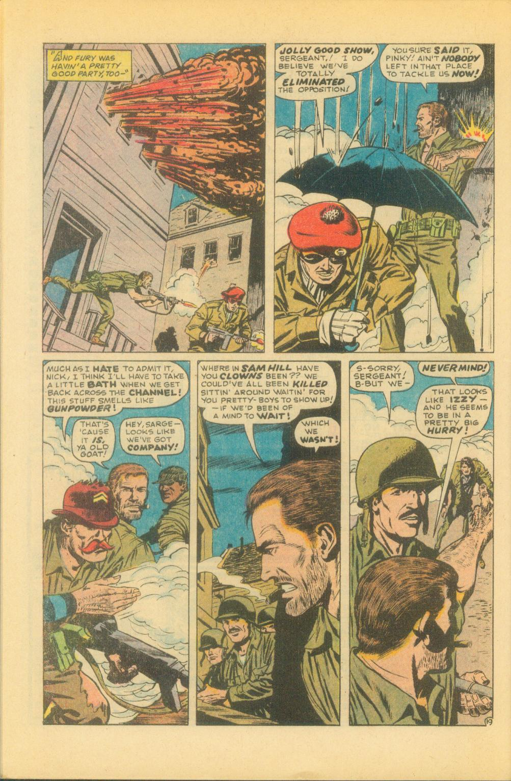 Read online Sgt. Fury comic -  Issue #86 - 28