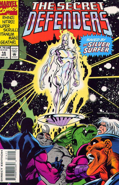 Read online Secret Defenders comic -  Issue #14 - 1