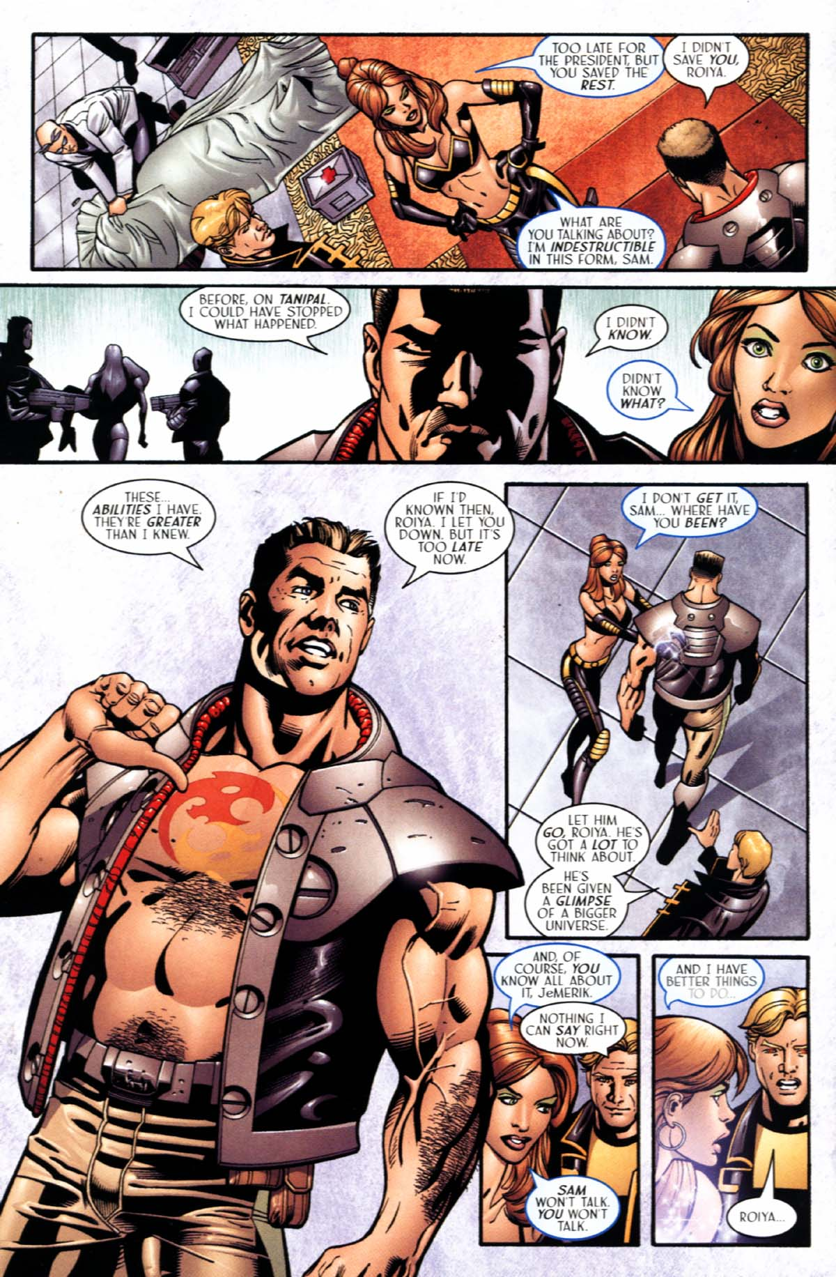Read online Sigil (2000) comic -  Issue #22 - 10