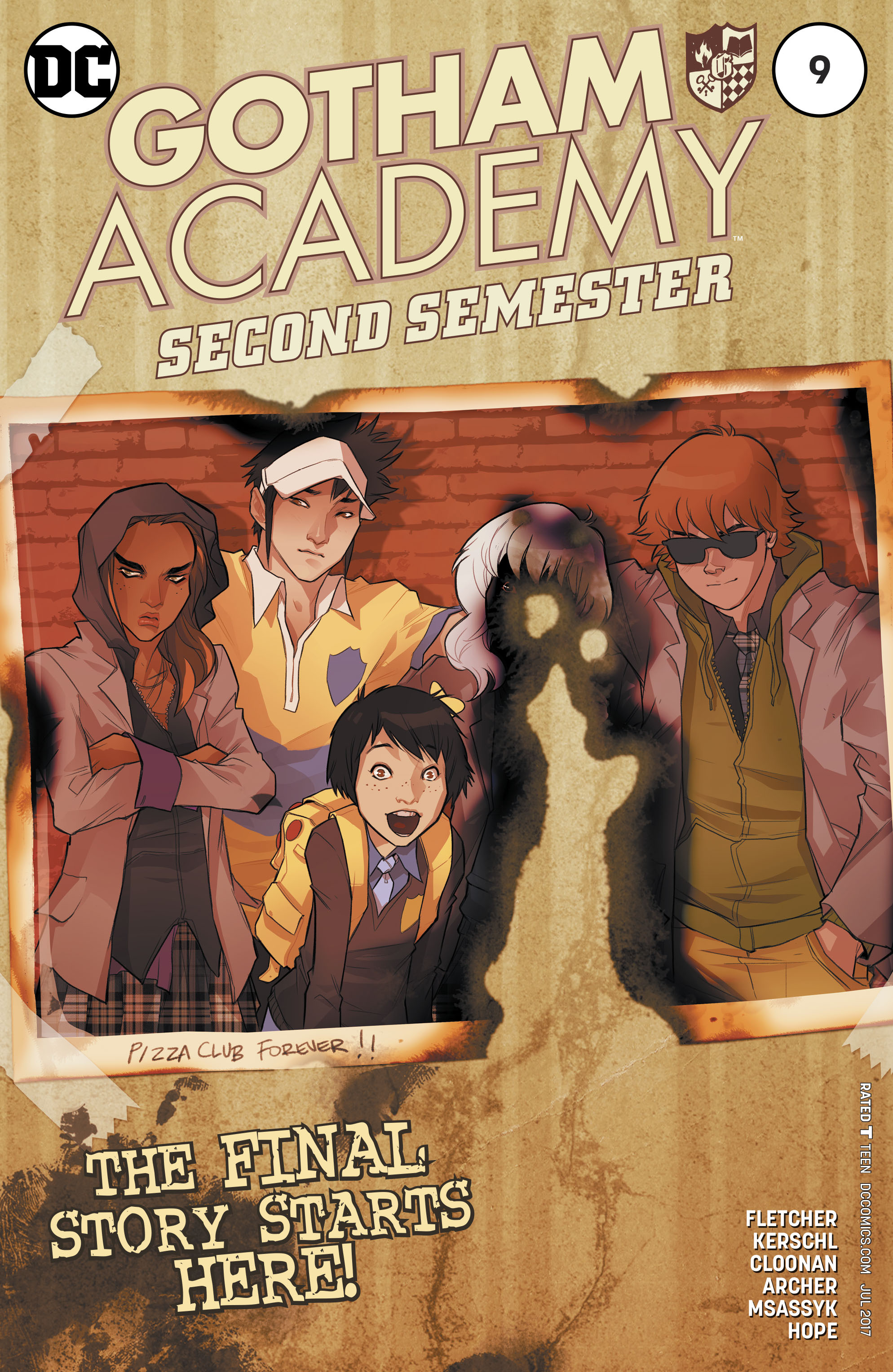 Read online Gotham Academy: Second Semester comic -  Issue #9 - 1