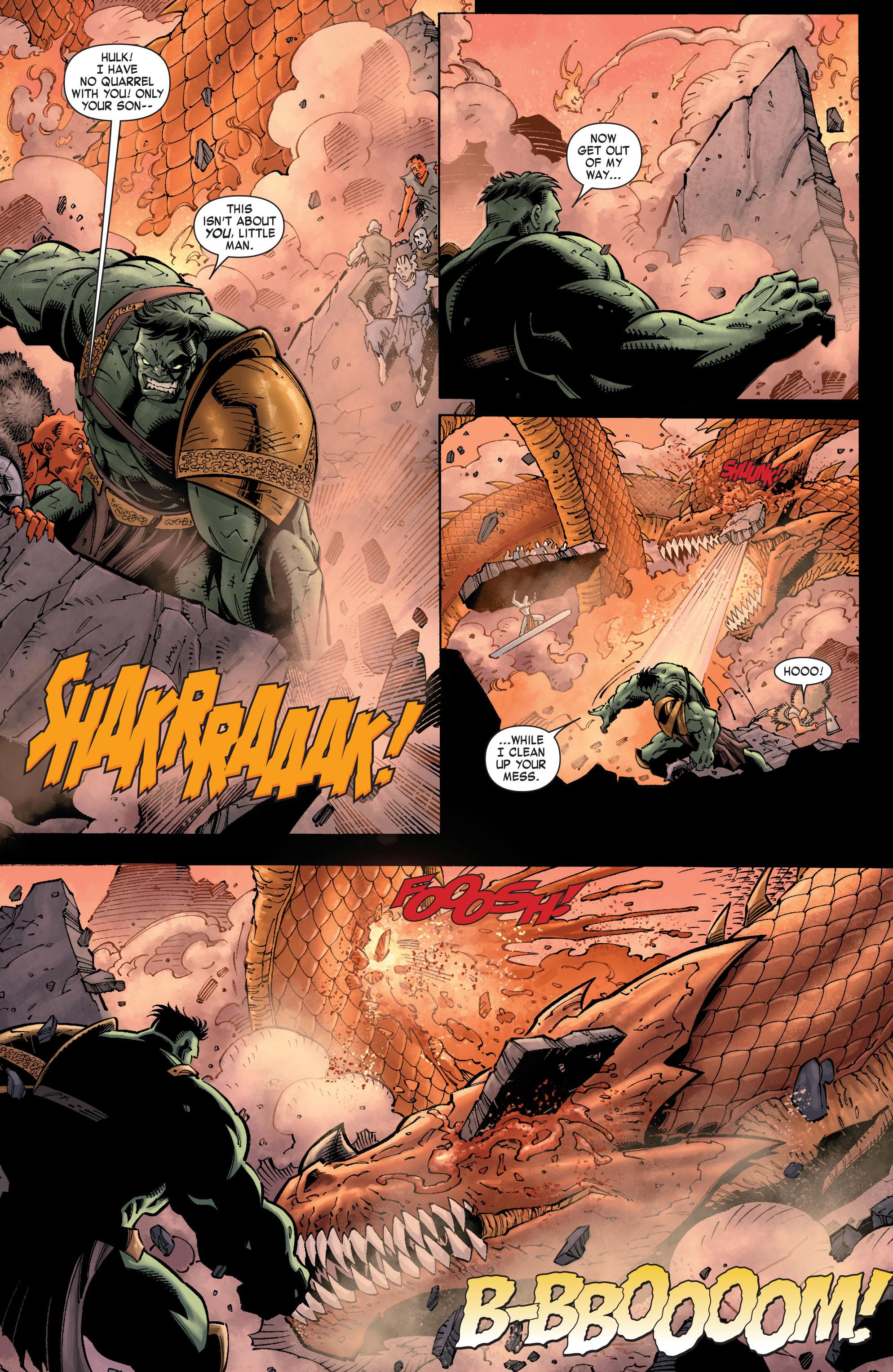 Read online Skaar: Son of Hulk comic -  Issue #9 - 9