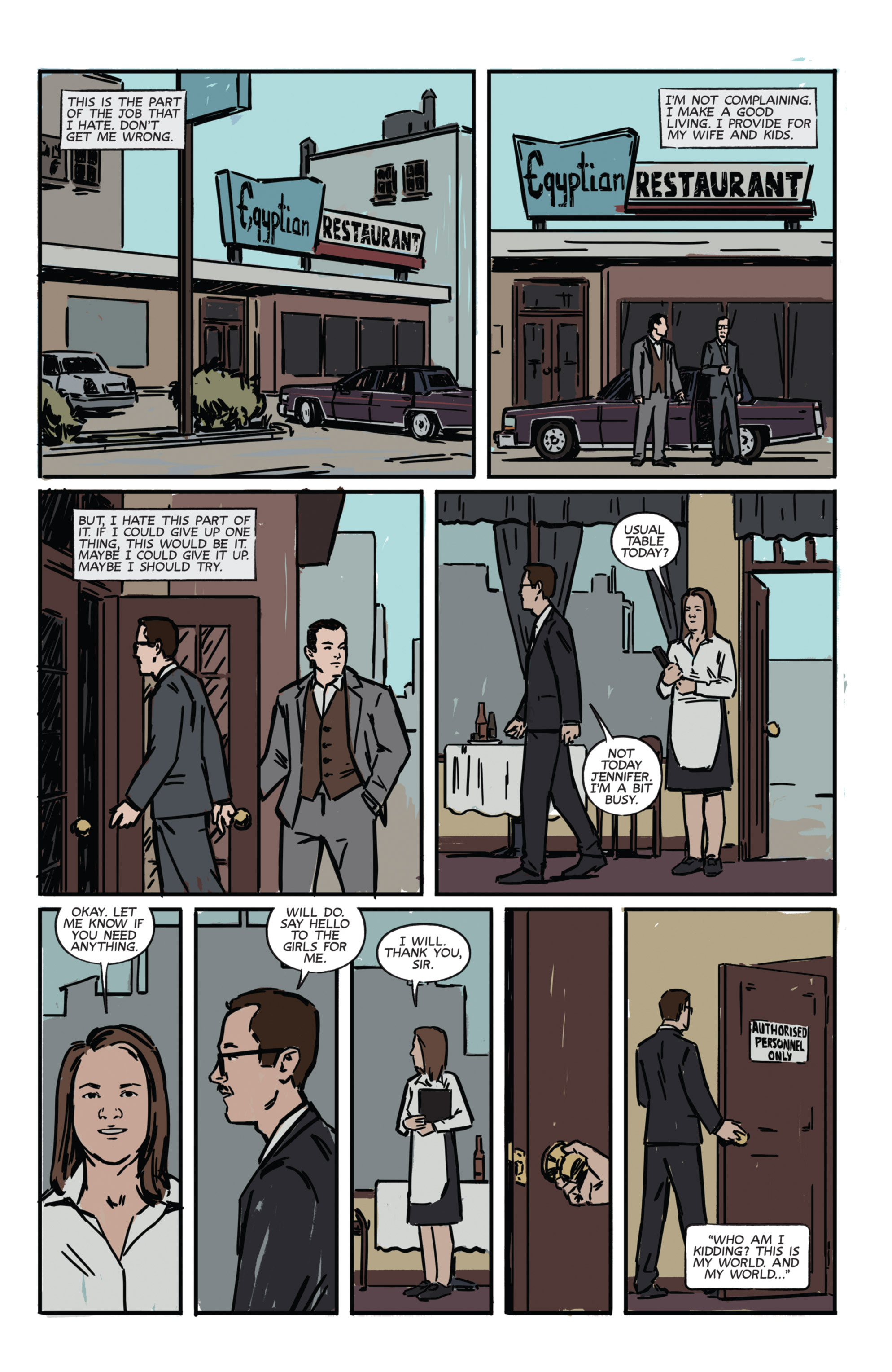 Read online Night Owl Society comic -  Issue #1 - 11
