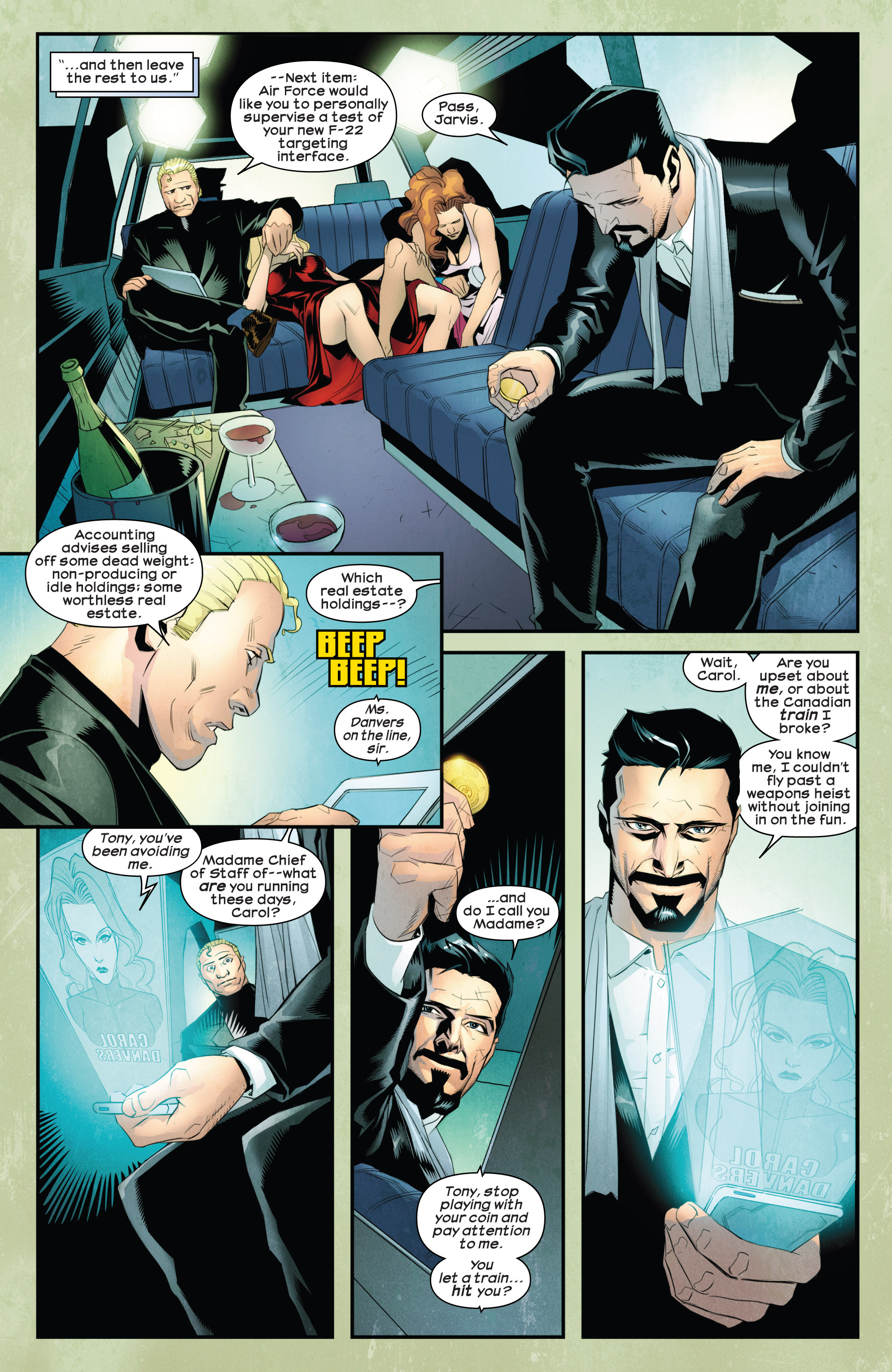 Read online Ultimate Comics Iron Man comic -  Issue #1 - 12