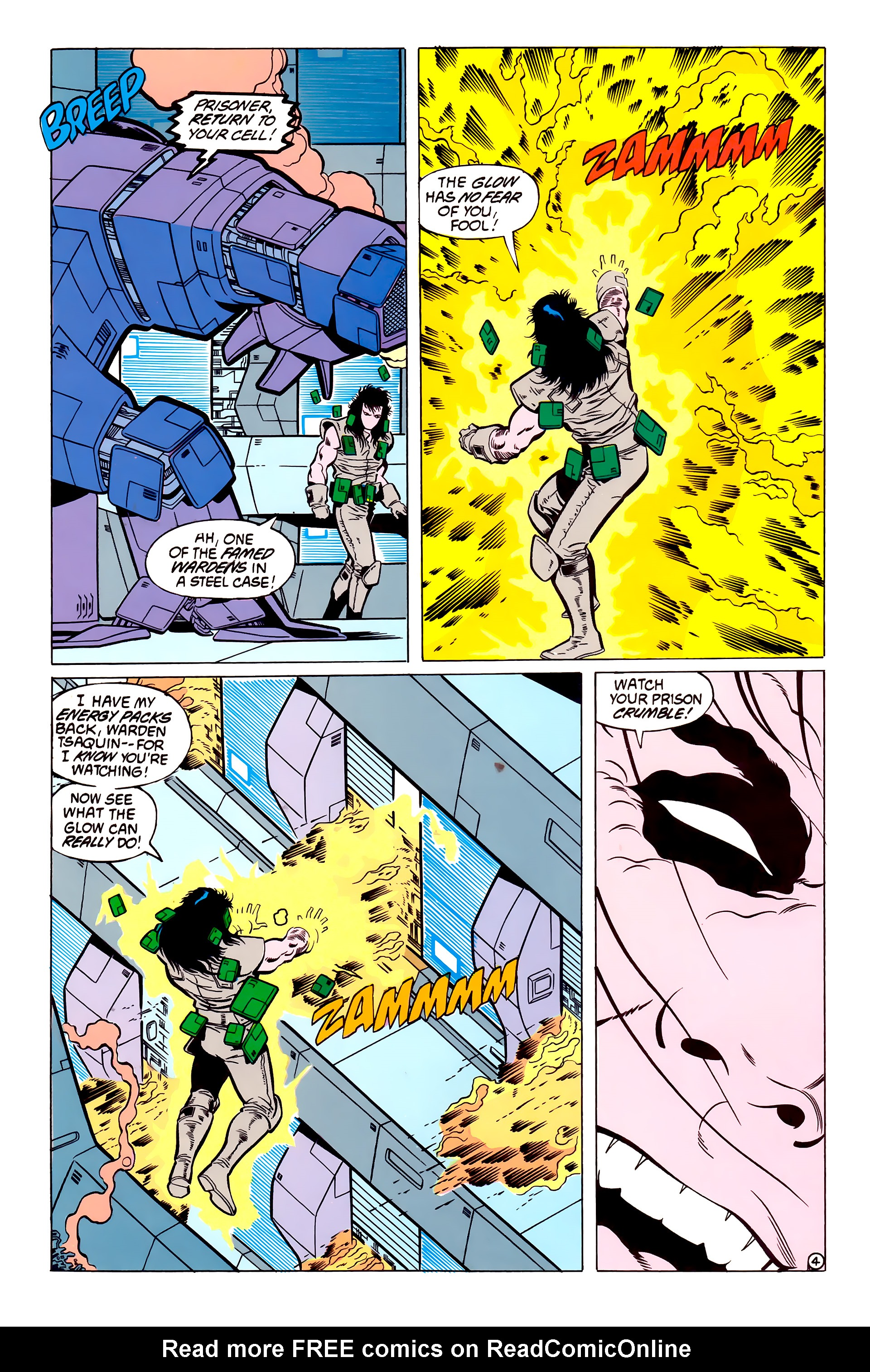 Legion of Super-Heroes (1984) 54 Page 4