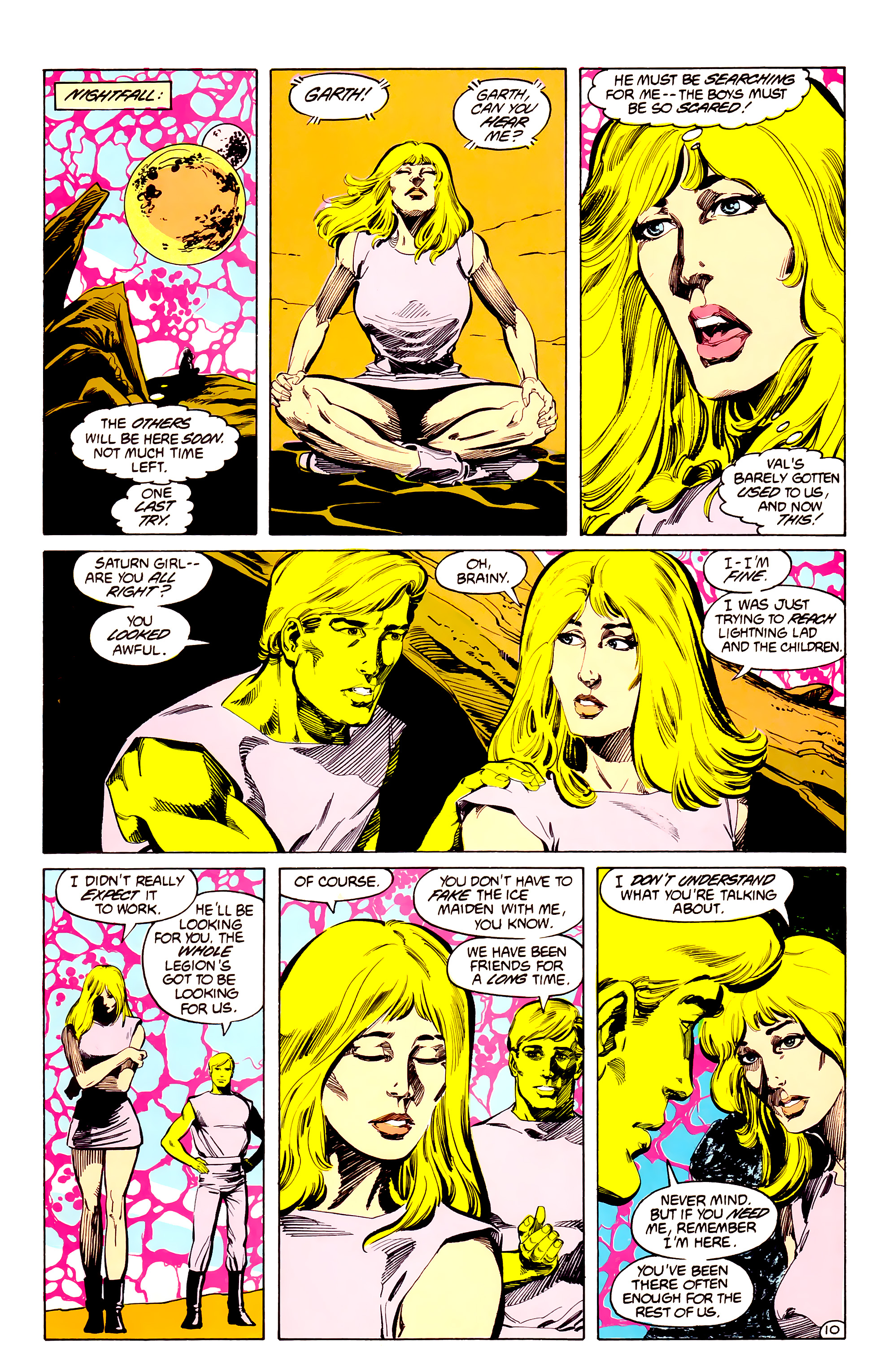 Legion of Super-Heroes (1984) 33 Page 10