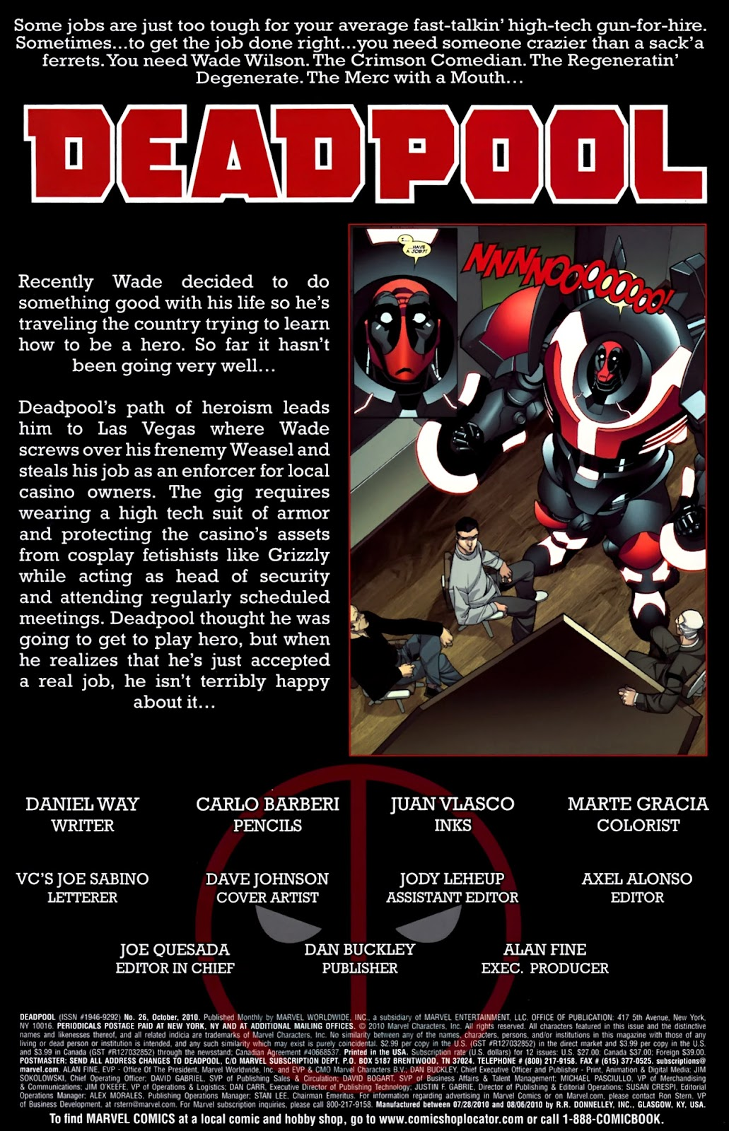 Read online Deadpool (2008) comic -  Issue #26 - 2