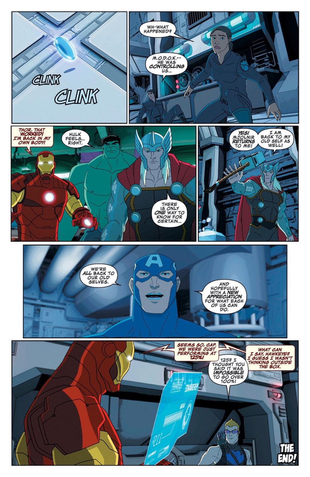 Read online Marvel Universe Avengers Assemble Season 2 comic -  Issue #8 - 29