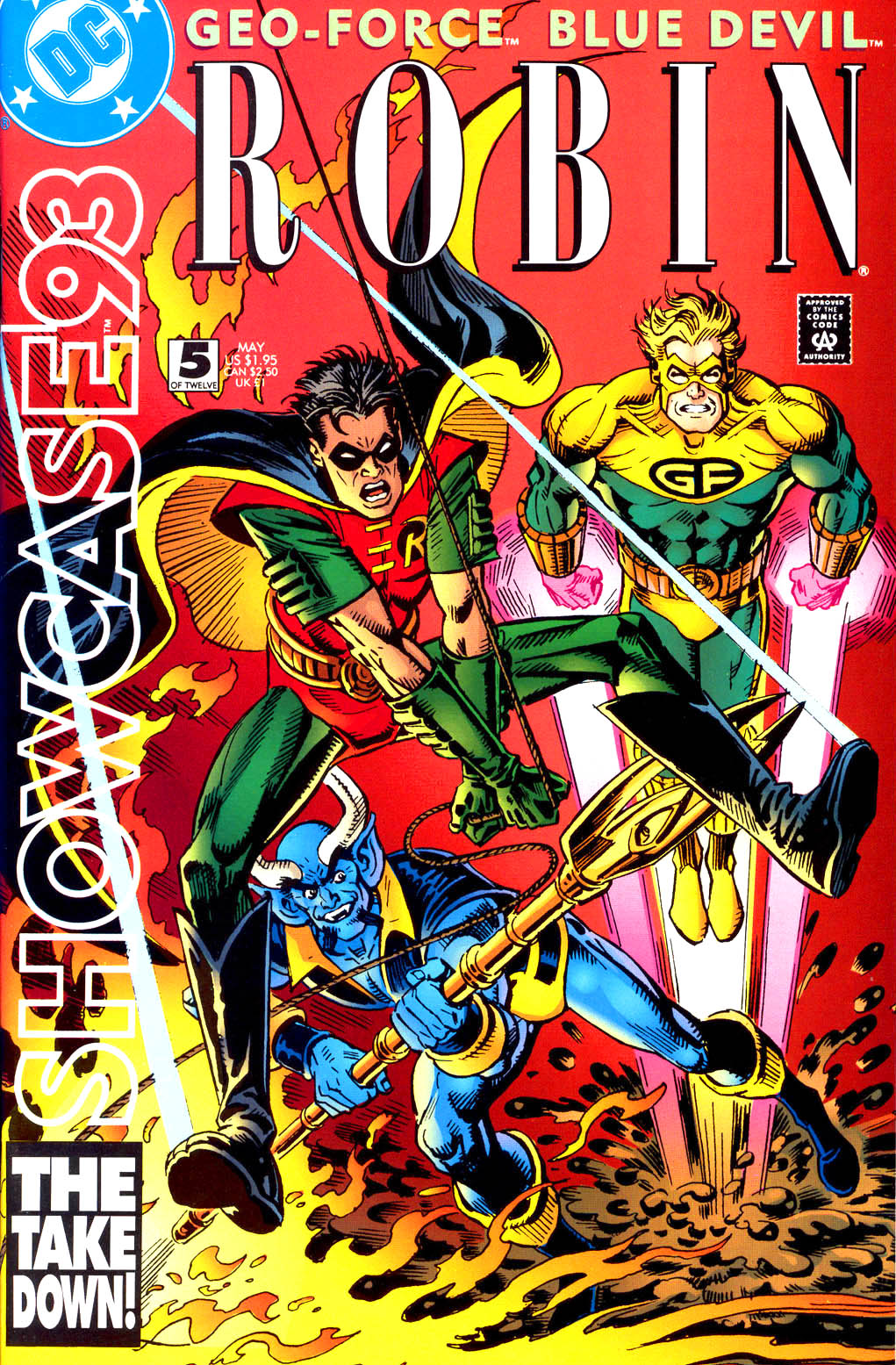 Read online Showcase '93 comic -  Issue #5 - 1