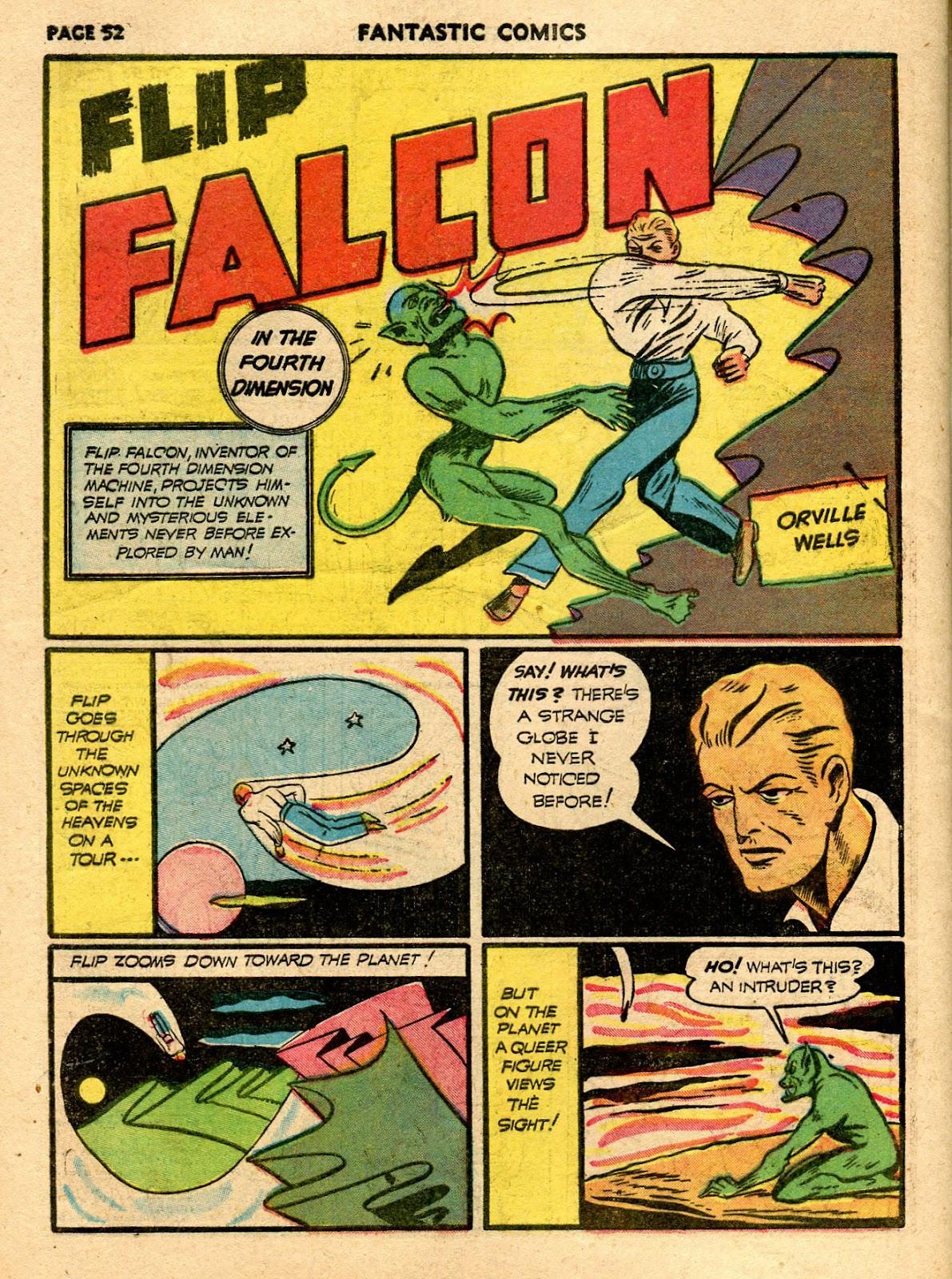 Read online Fantastic Comics comic -  Issue #21 - 50