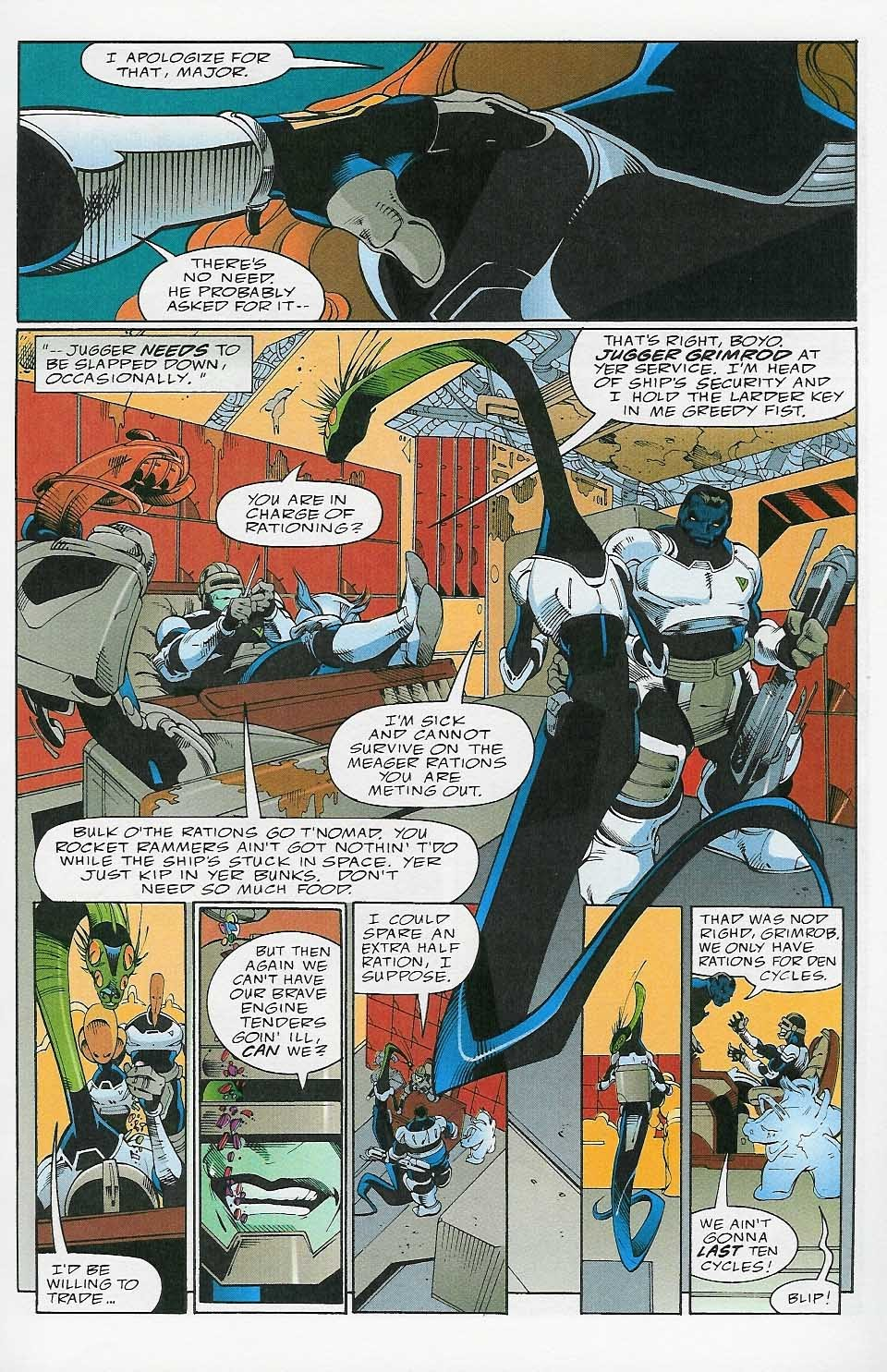 Alien Legion: On the Edge issue 2 - Page 8