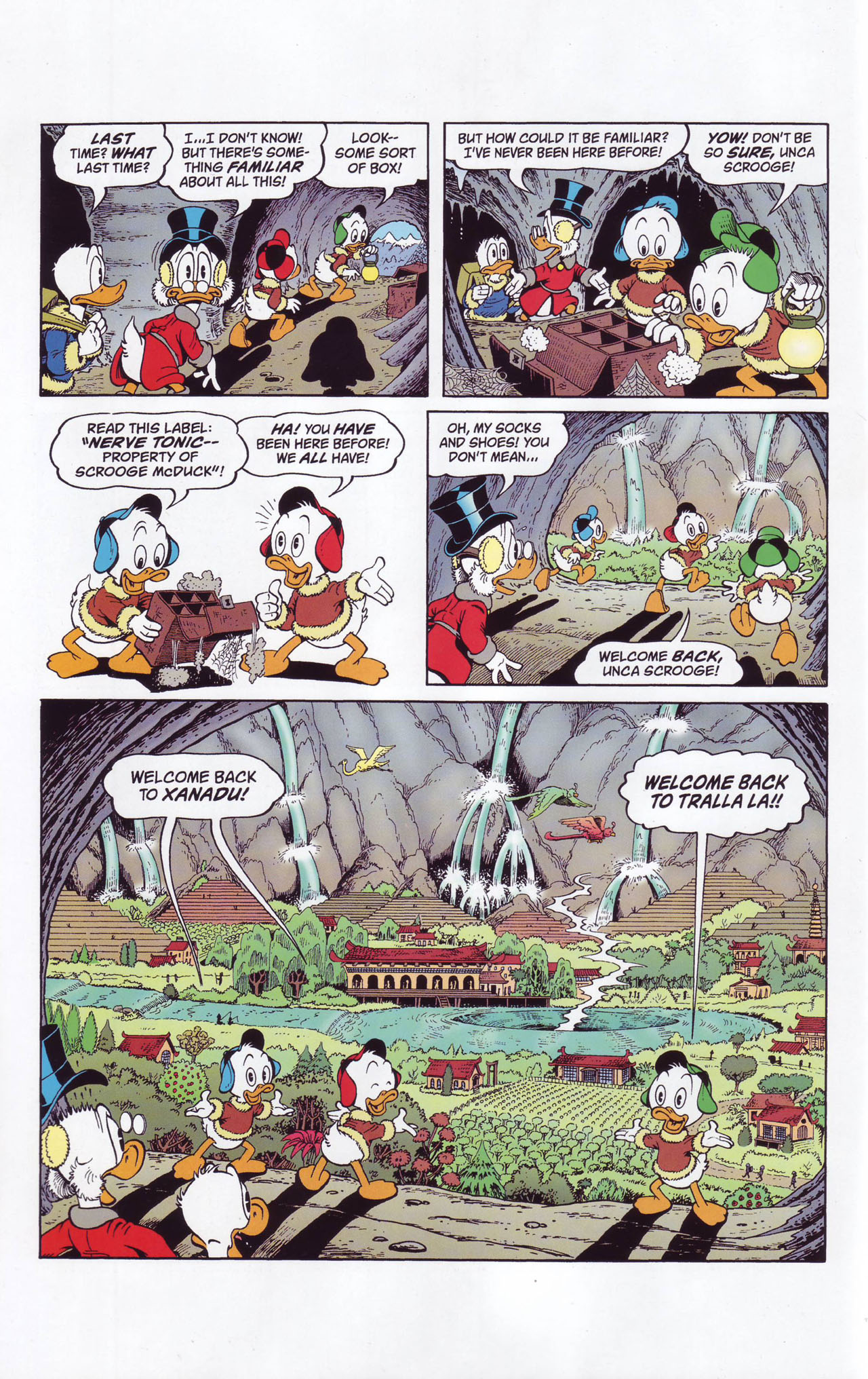 Read online Uncle Scrooge (1953) comic -  Issue #357 - 12