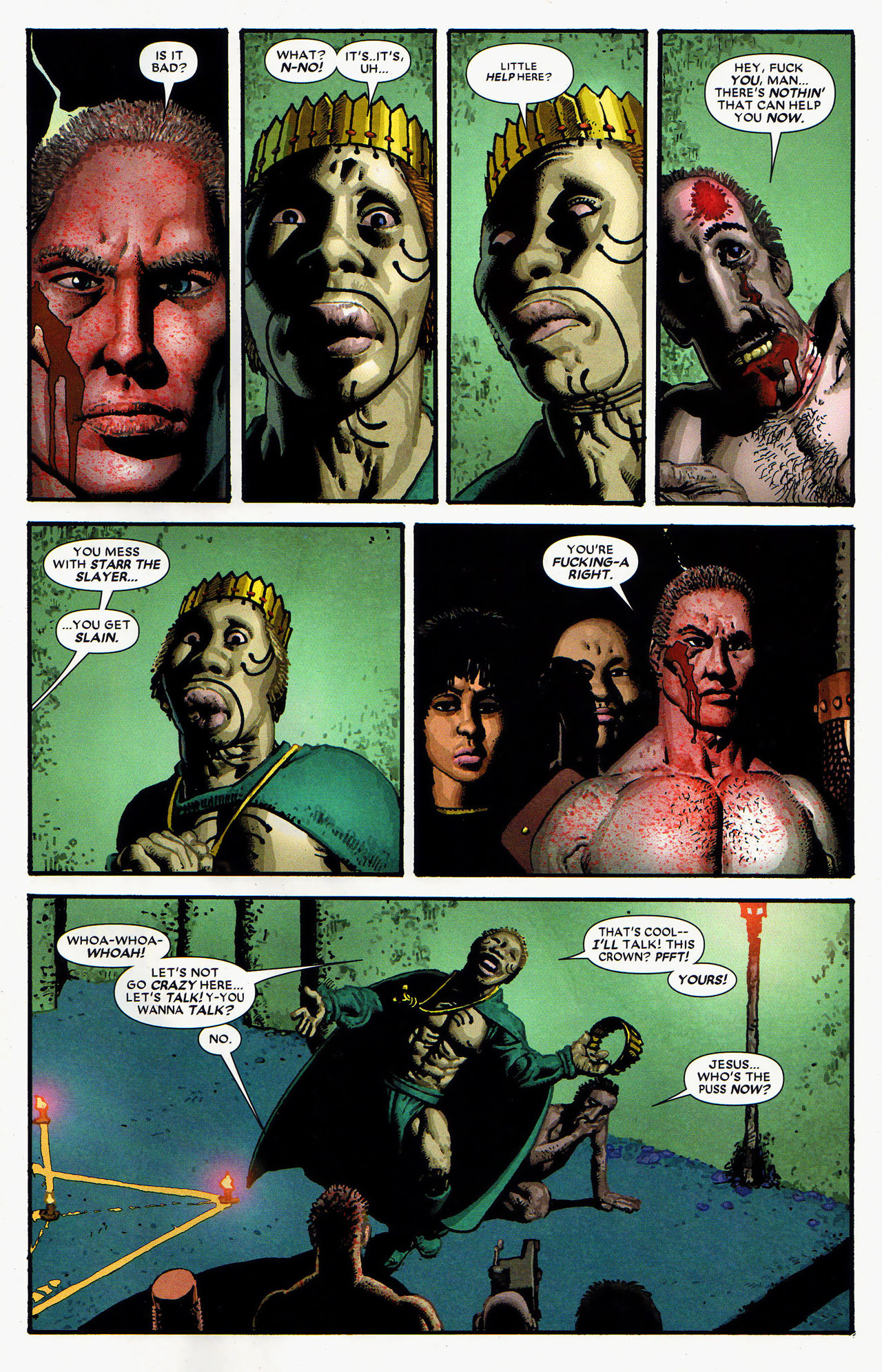 Read online Starr the Slayer comic -  Issue #4 - 17