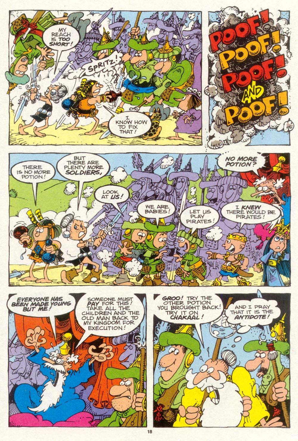 Read online Sergio Aragonés Groo the Wanderer comic -  Issue #93 - 19