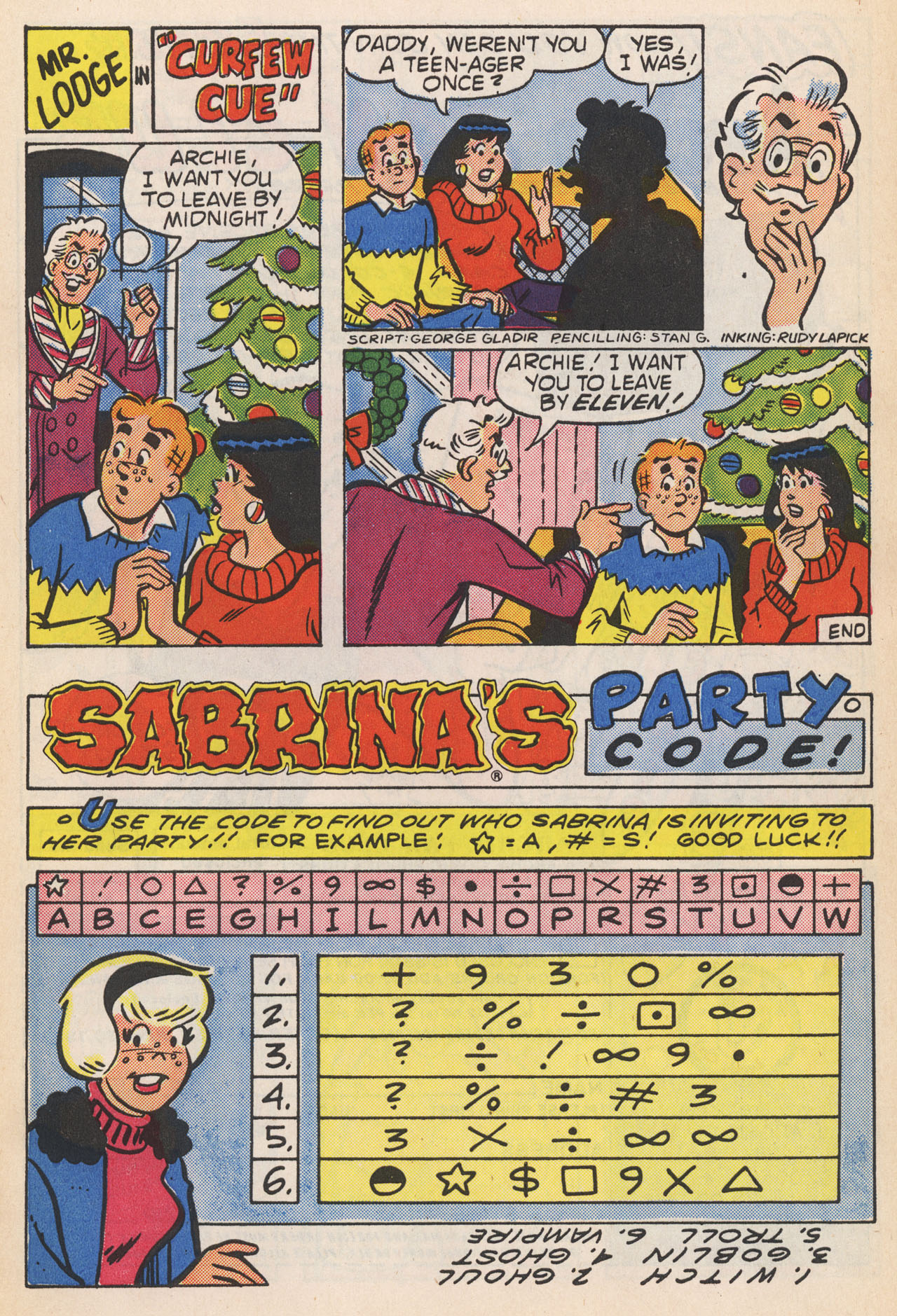 Read online Archie (1960) comic -  Issue #364 - 27