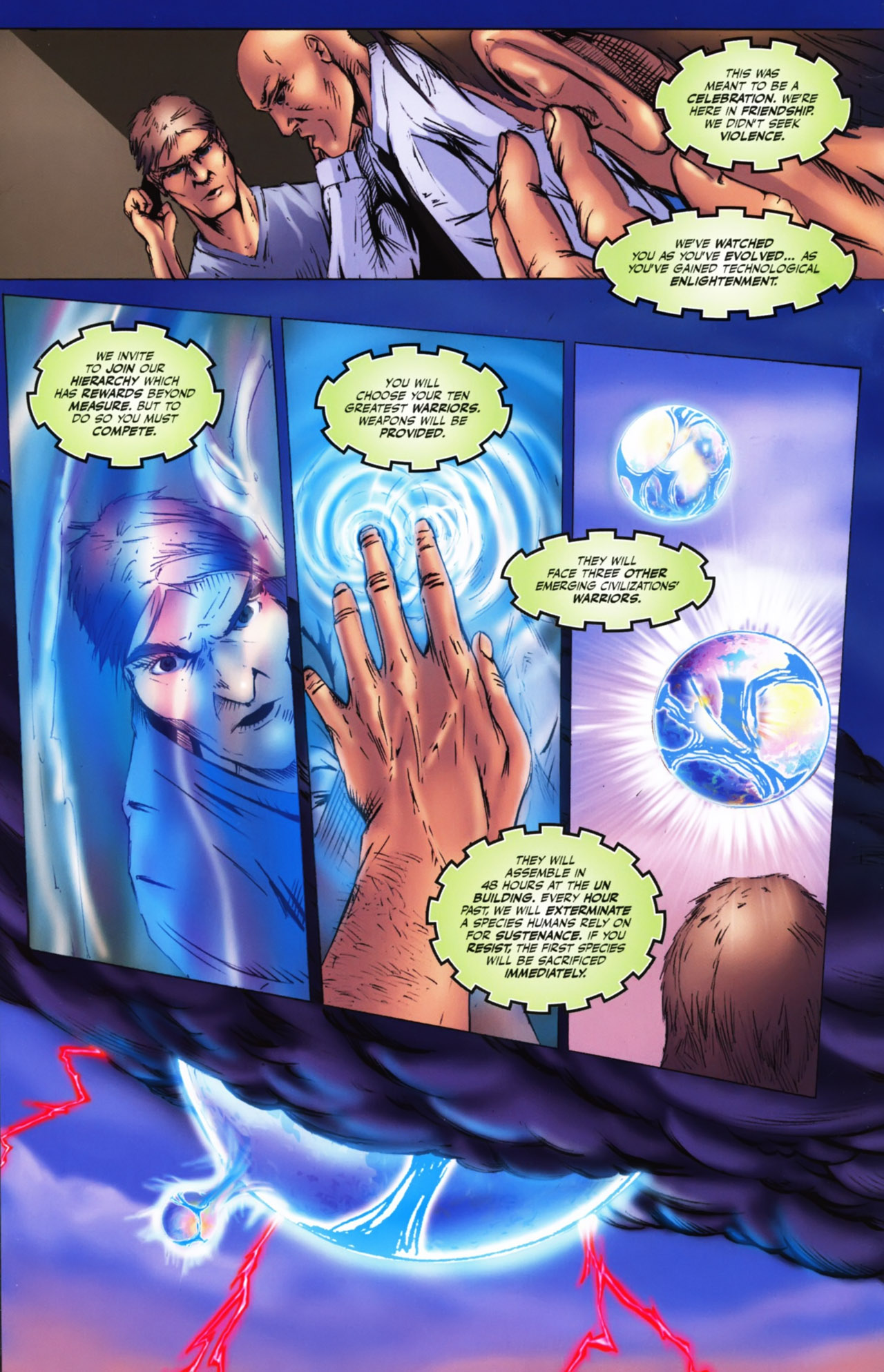 Read online Agon comic -  Issue #1 - 15