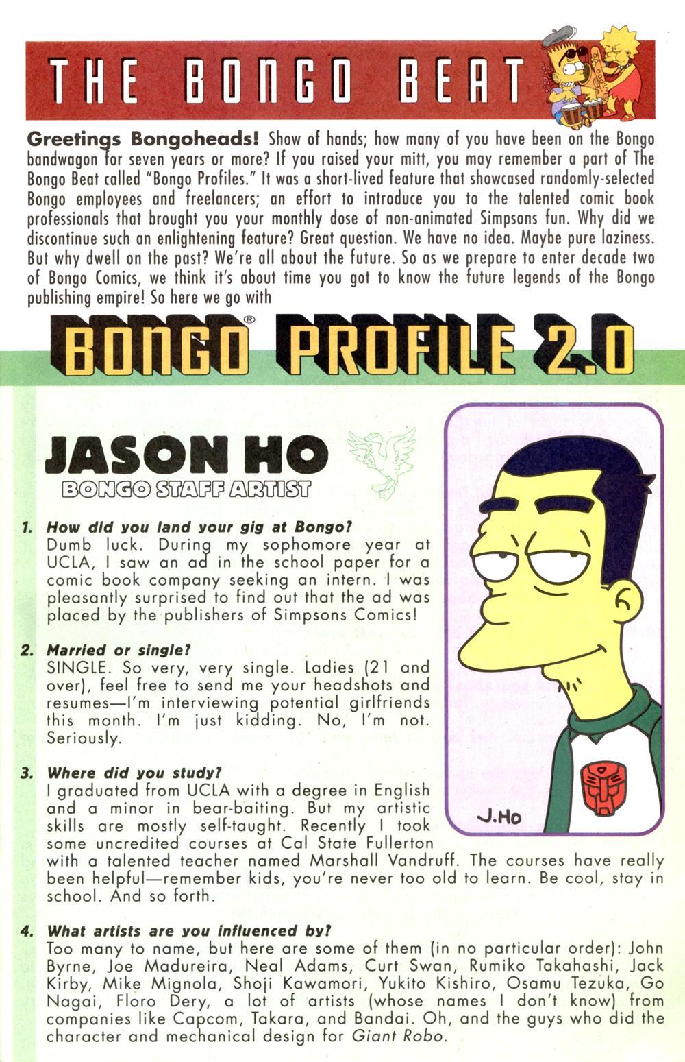 Read online Simpsons Comics comic -  Issue #82 - 29