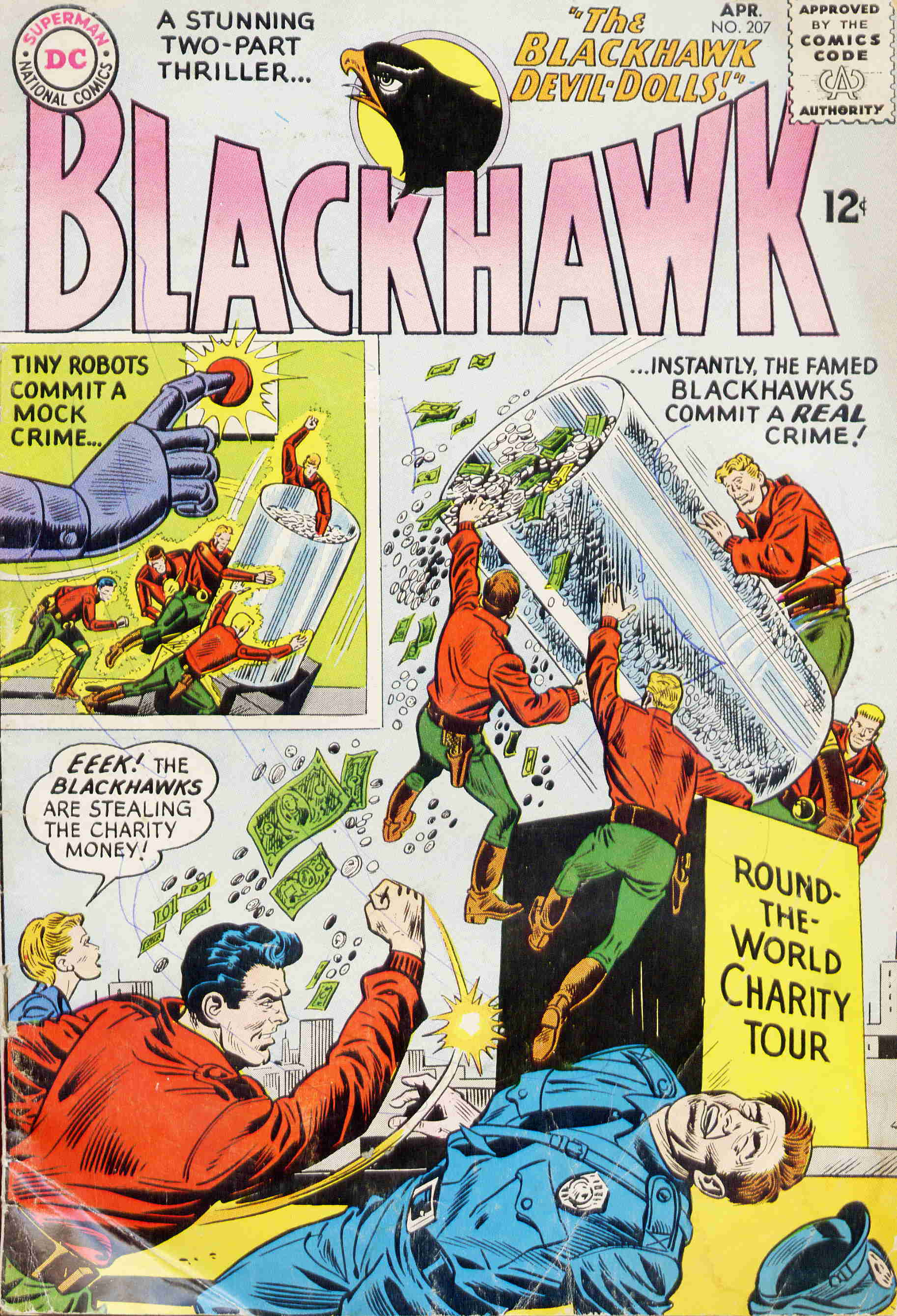 Blackhawk (1957) 207 Page 1