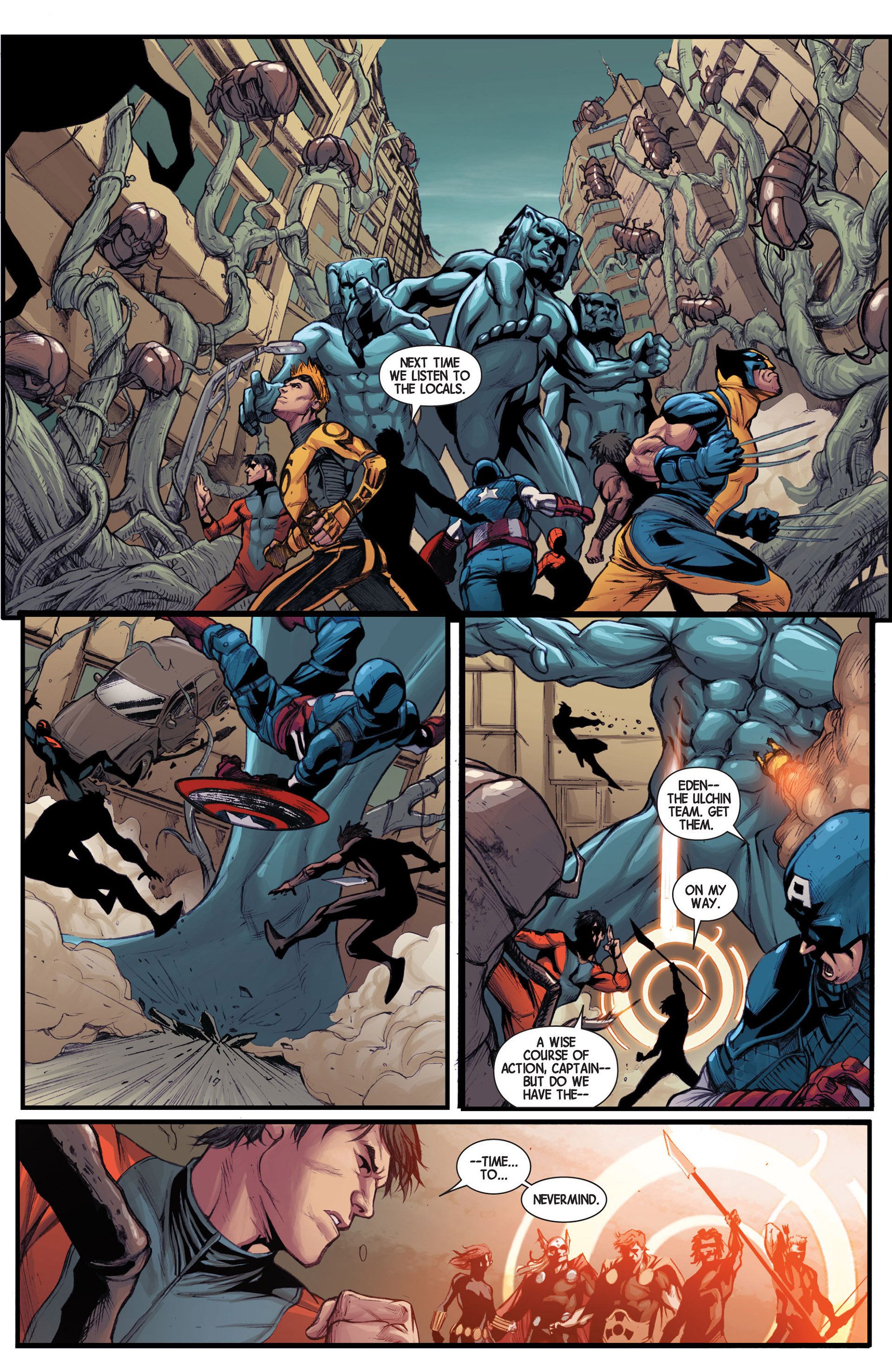Read online Avengers (2013) comic -  Issue #14 - 21