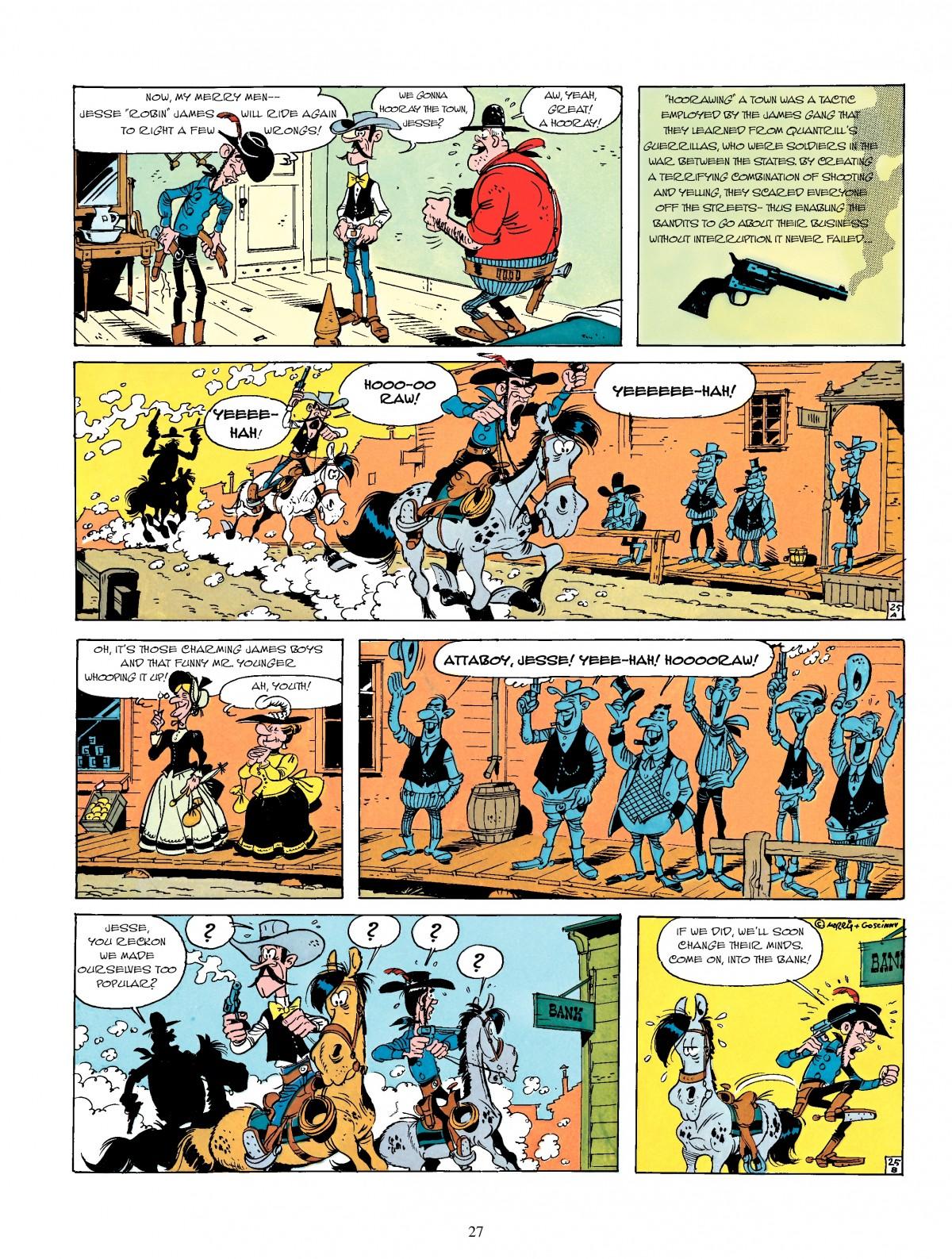 Read online A Lucky Luke Adventure comic -  Issue #4 - 29
