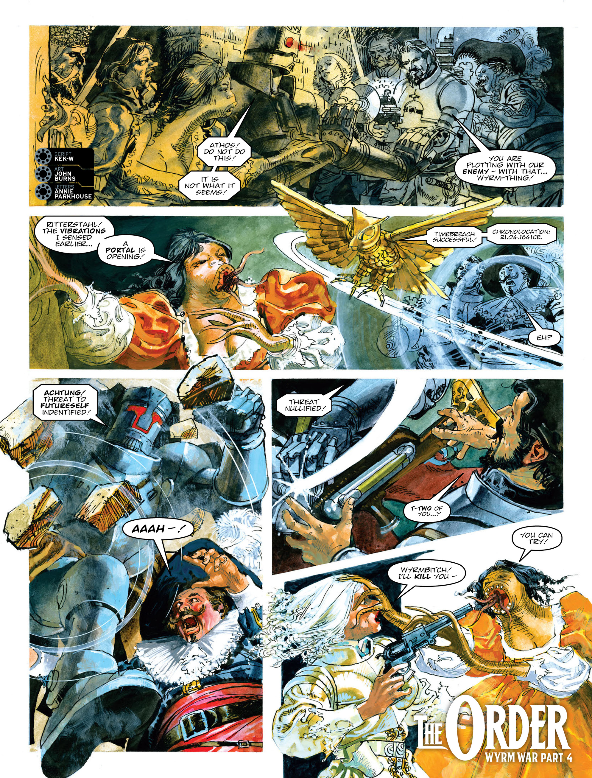 Read online 2000 AD comic -  Issue #2014 - 20