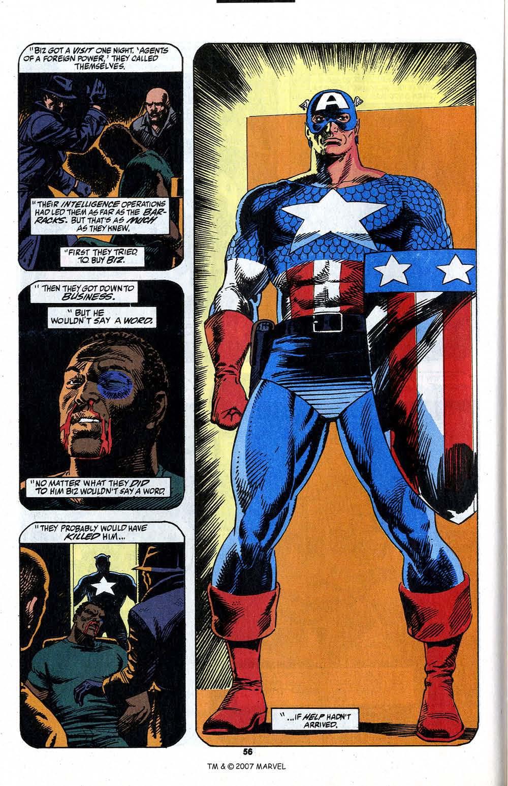 Read online Captain America (1968) comic -  Issue # _Annual 13 - 58