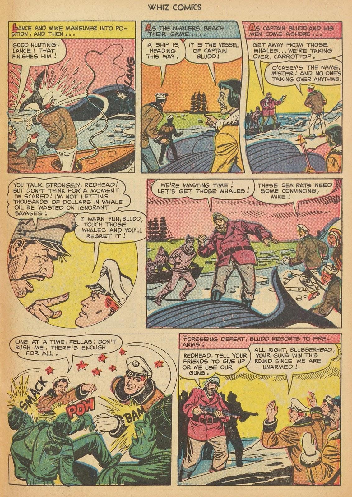 Read online WHIZ Comics comic -  Issue #153 - 31