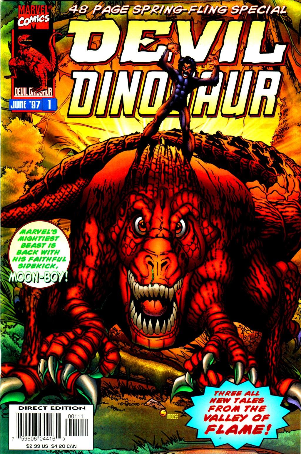 Devil Dinosaur Spring Fling Full Page 1