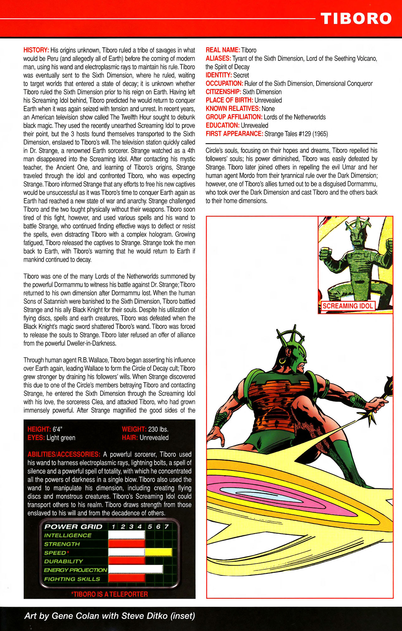 Read online All-New Official Handbook of the Marvel Universe A to Z comic -  Issue #11 - 37