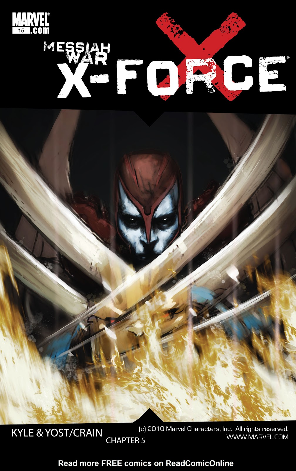 Read online X-Force/Cable: Messiah War comic -  Issue # _TPB (Part 2) - 66