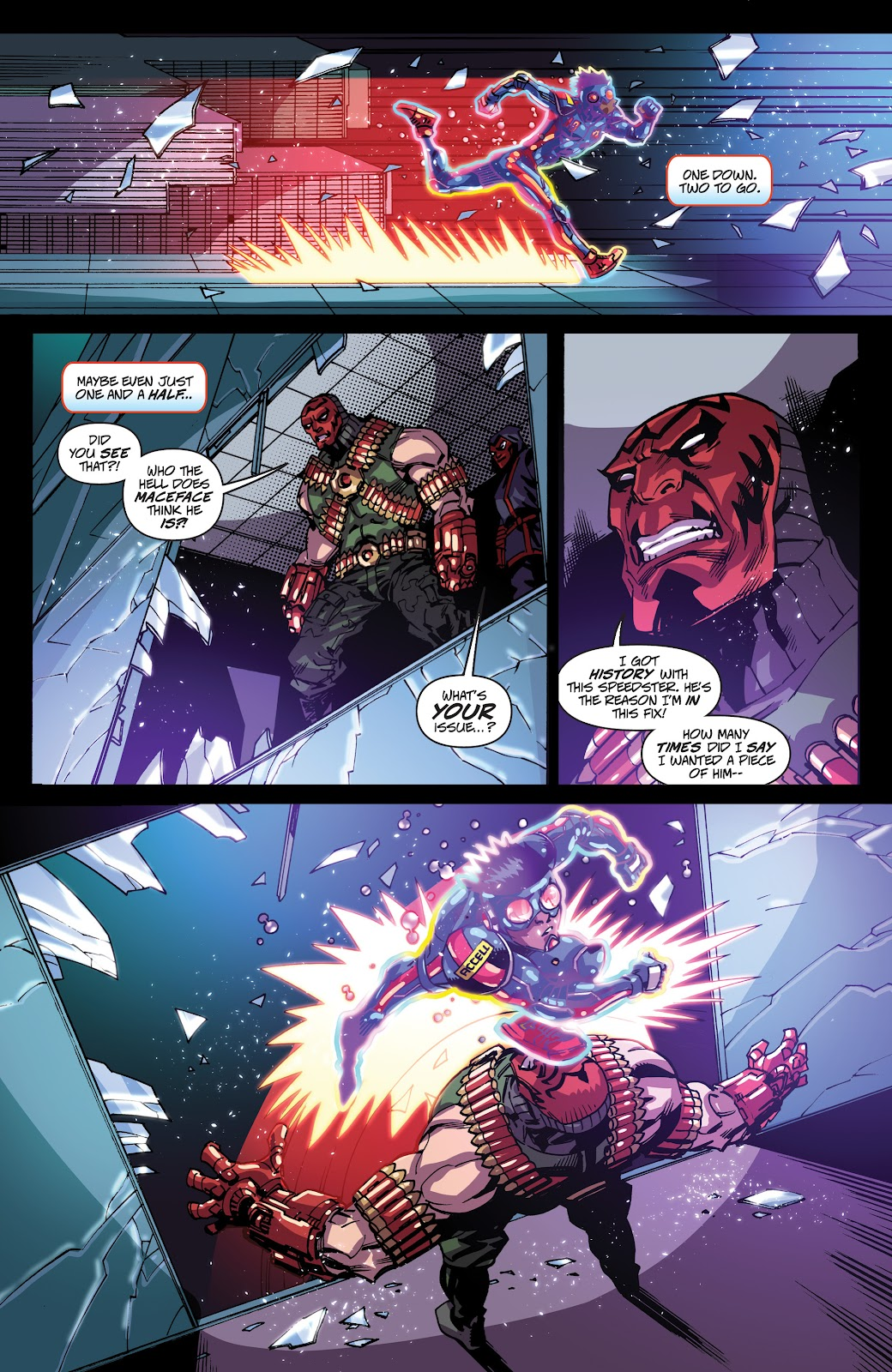 Read online Accell comic -  Issue #19 - 5