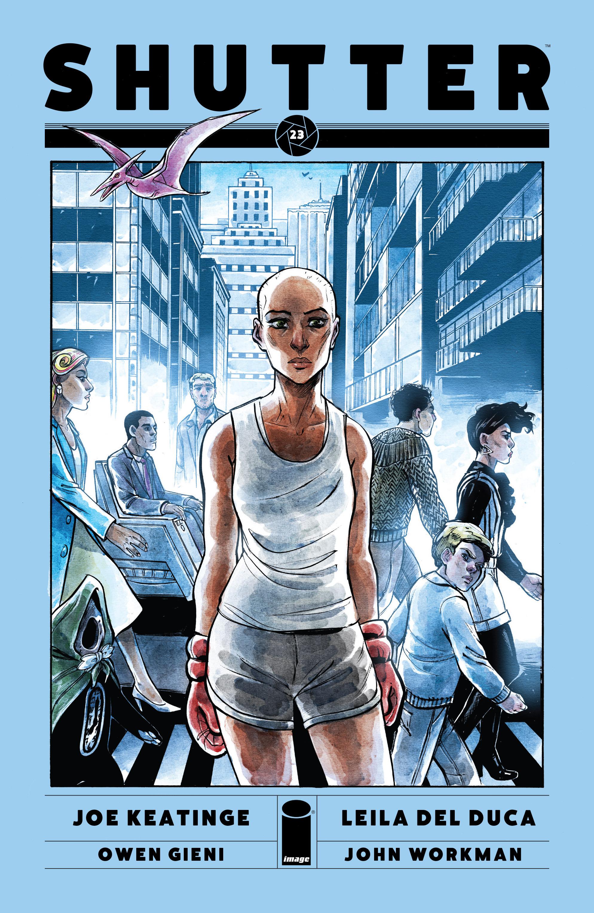Read online Shutter comic -  Issue #23 - 1