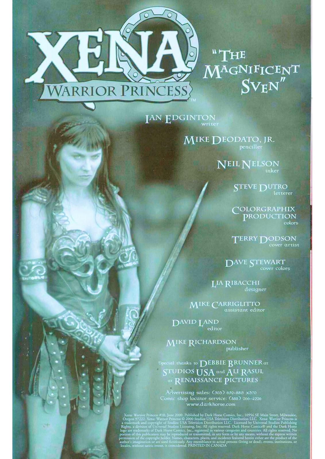 Xena: Warrior Princess (1999) Issue #10 #10 - English 4