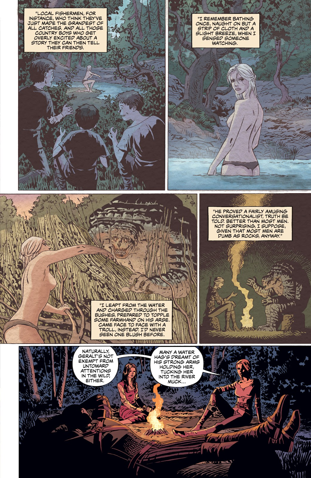 Read online The Witcher Omnibus comic -  Issue # TPB (Part 4) - 6