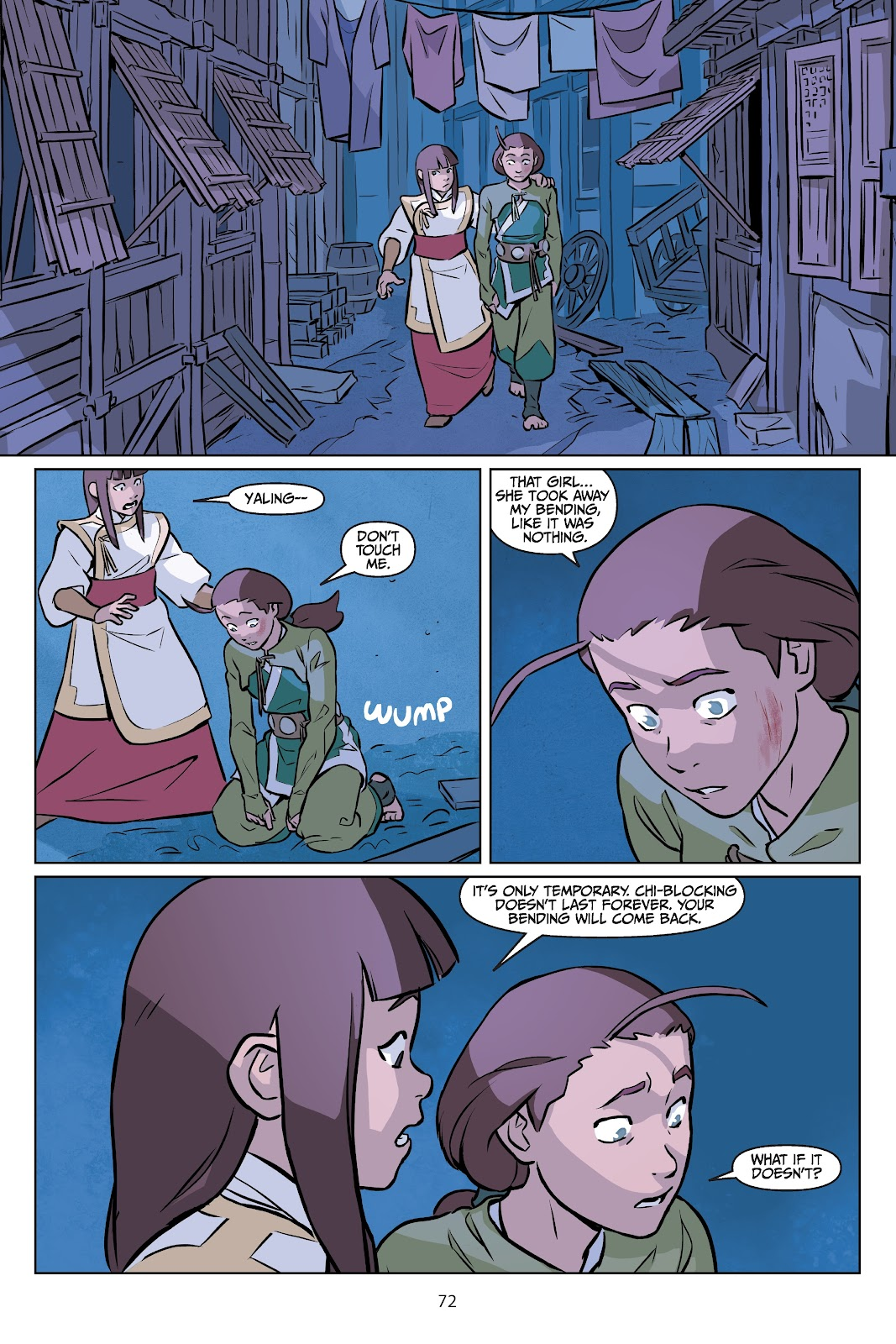 Read online Nickelodeon Avatar: The Last Airbender - Imbalance comic -  Issue # TPB 2 - 73