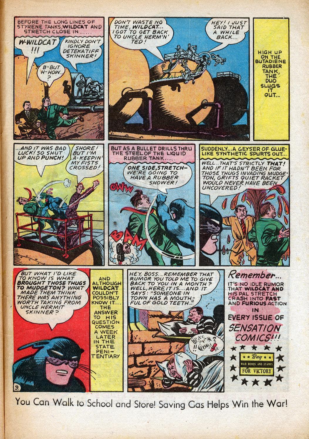 Read online Sensation (Mystery) Comics comic -  Issue #33 - 49