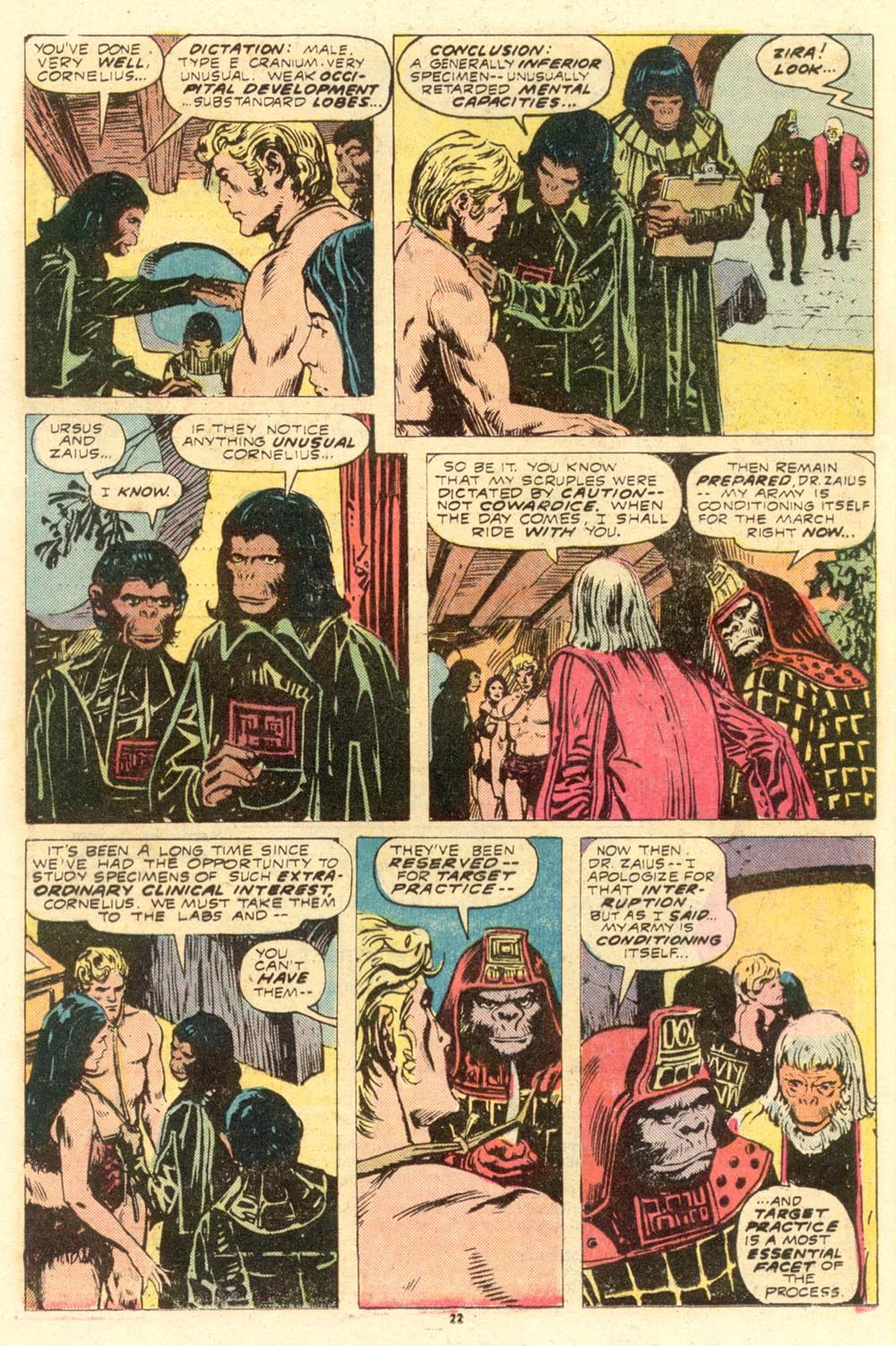 Read online Adventures on the Planet of the Apes comic -  Issue #8 - 14