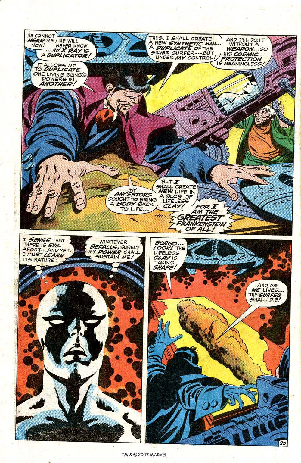 Read online Silver Surfer (1968) comic -  Issue #7 - 26