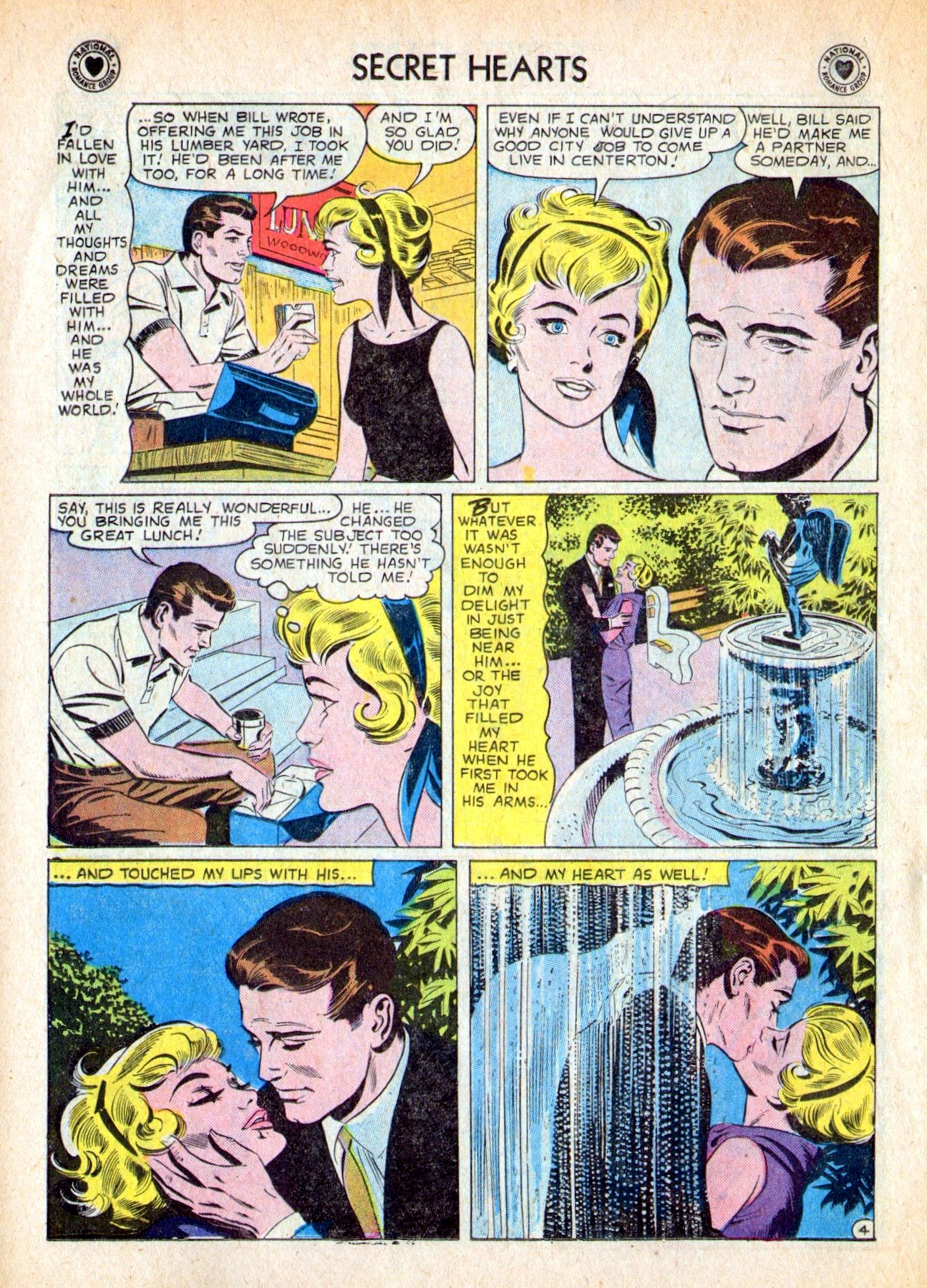 Read online Secret Hearts comic -  Issue #53 - 22