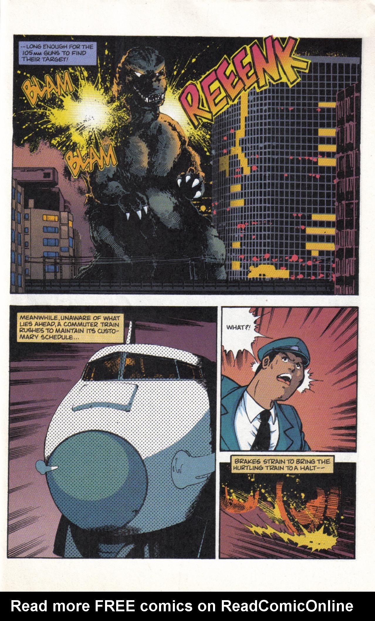 Read online Dark Horse Classics: Terror of Godzilla comic -  Issue #3 - 27