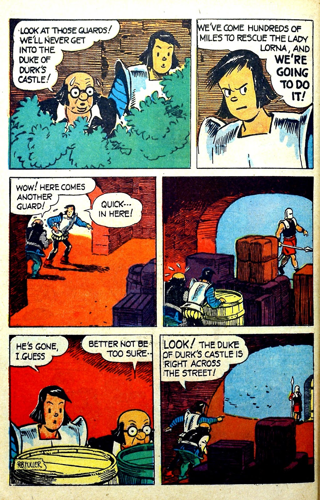 Read online Famous Funnies comic -  Issue #141 - 46