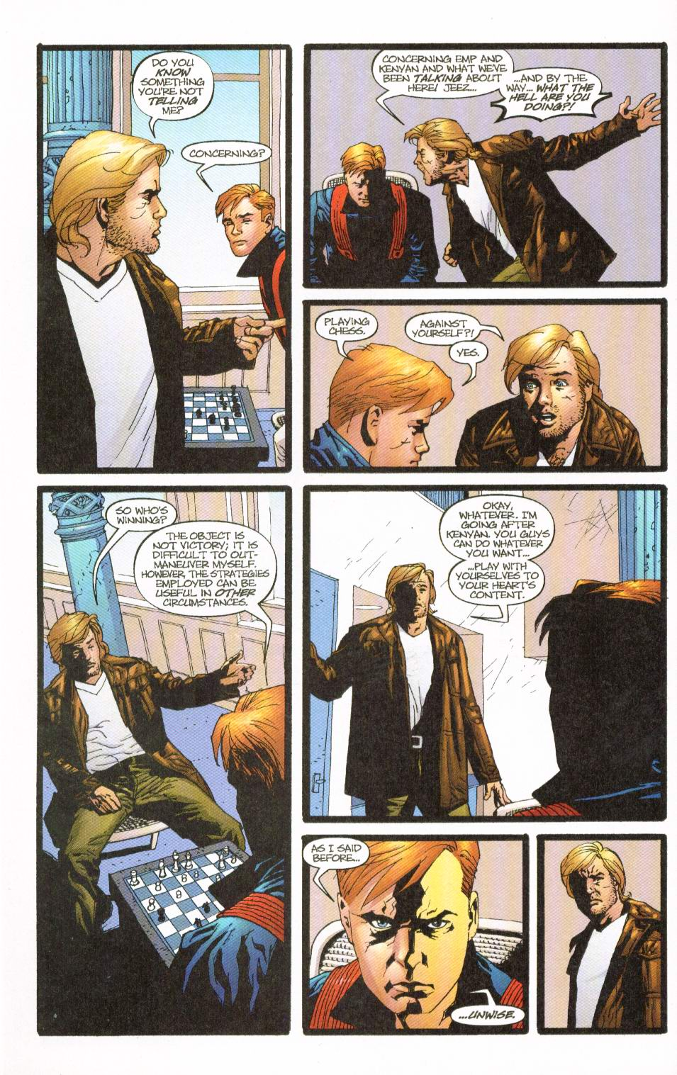 Wildcats (1999) Issue #8 #9 - English 5