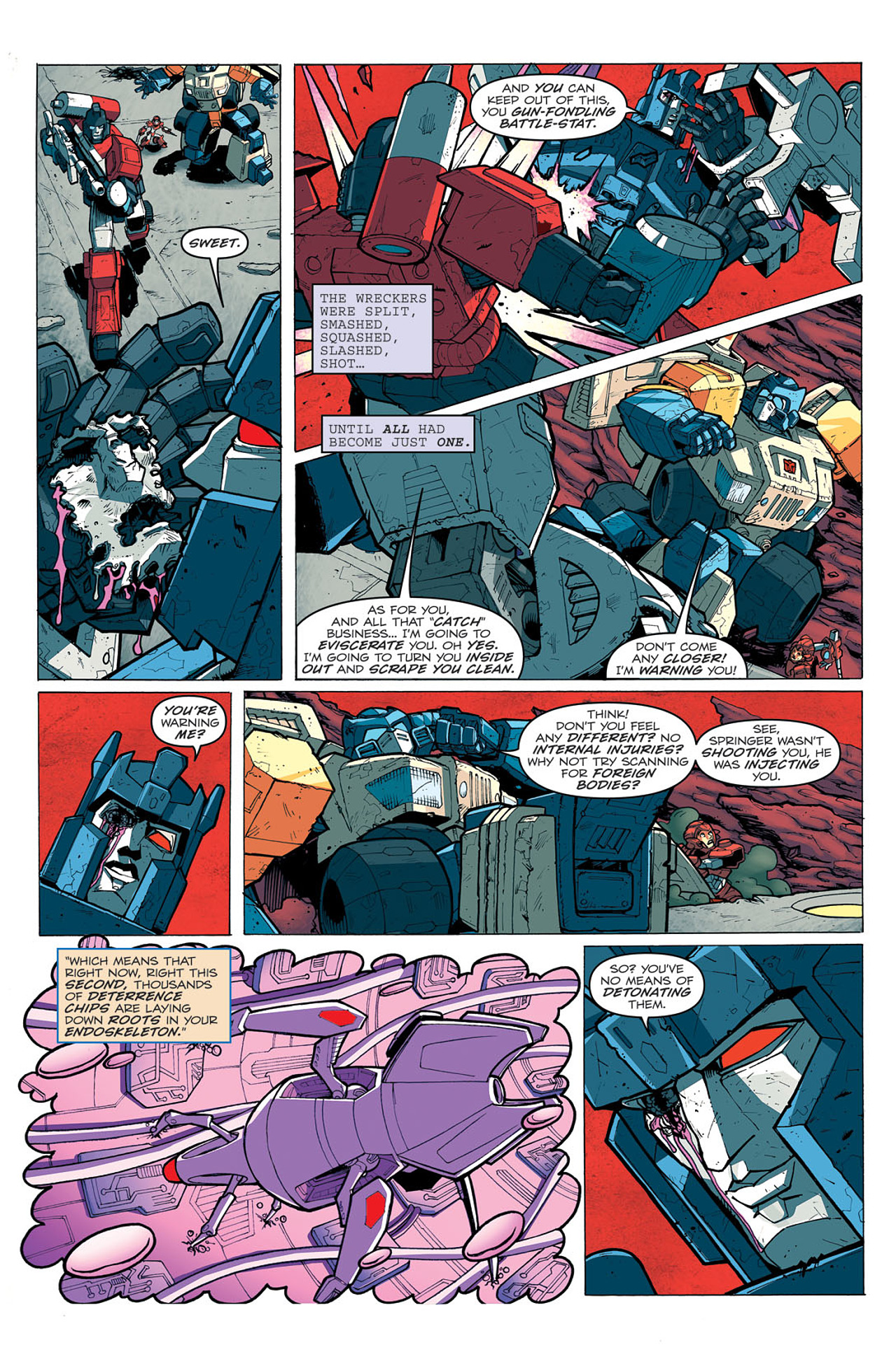 Read online Transformers: Last Stand of The Wreckers comic -  Issue #5 - 17