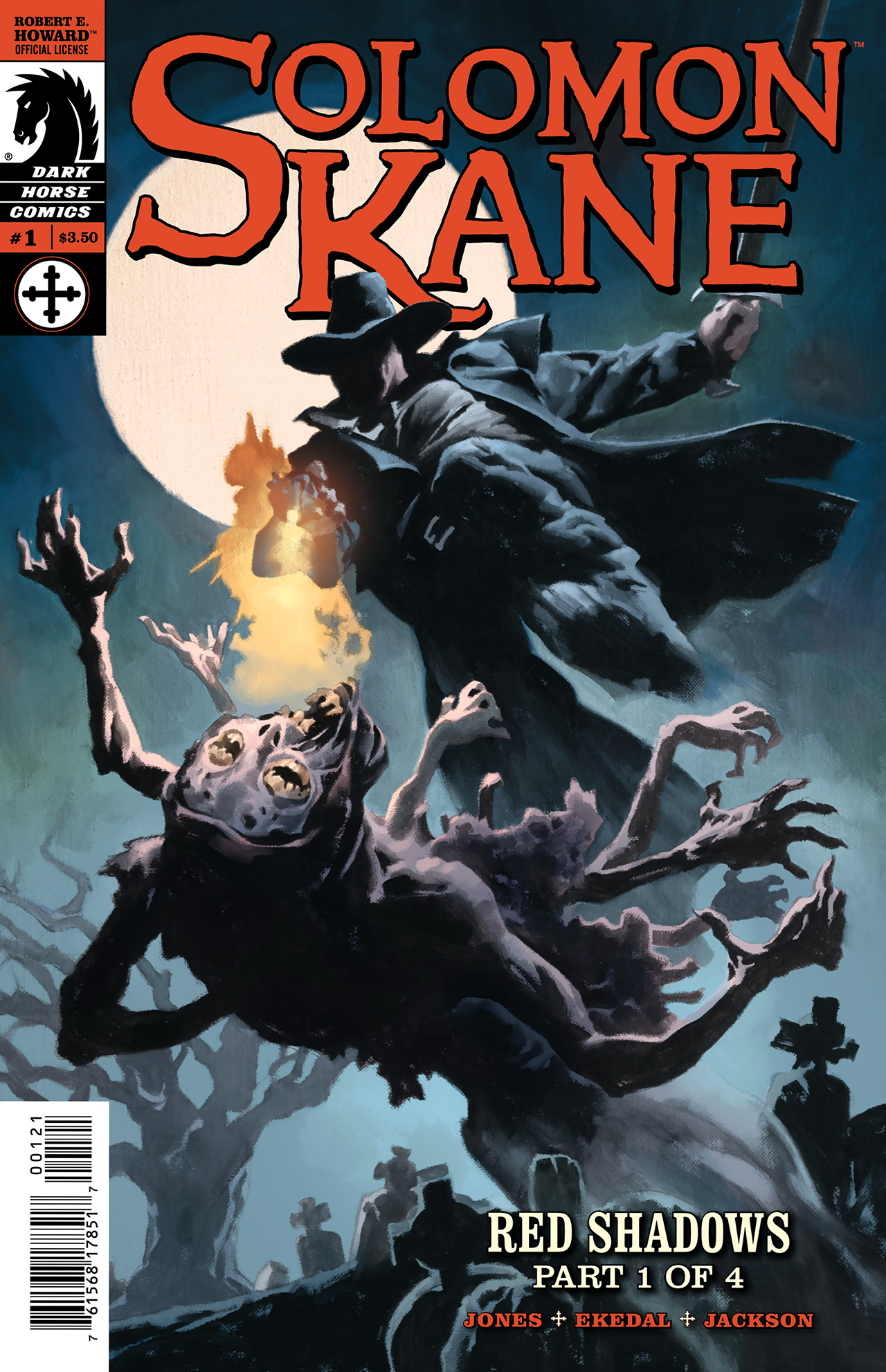 Read online Solomon Kane: Red Shadows comic -  Issue #1 - 2